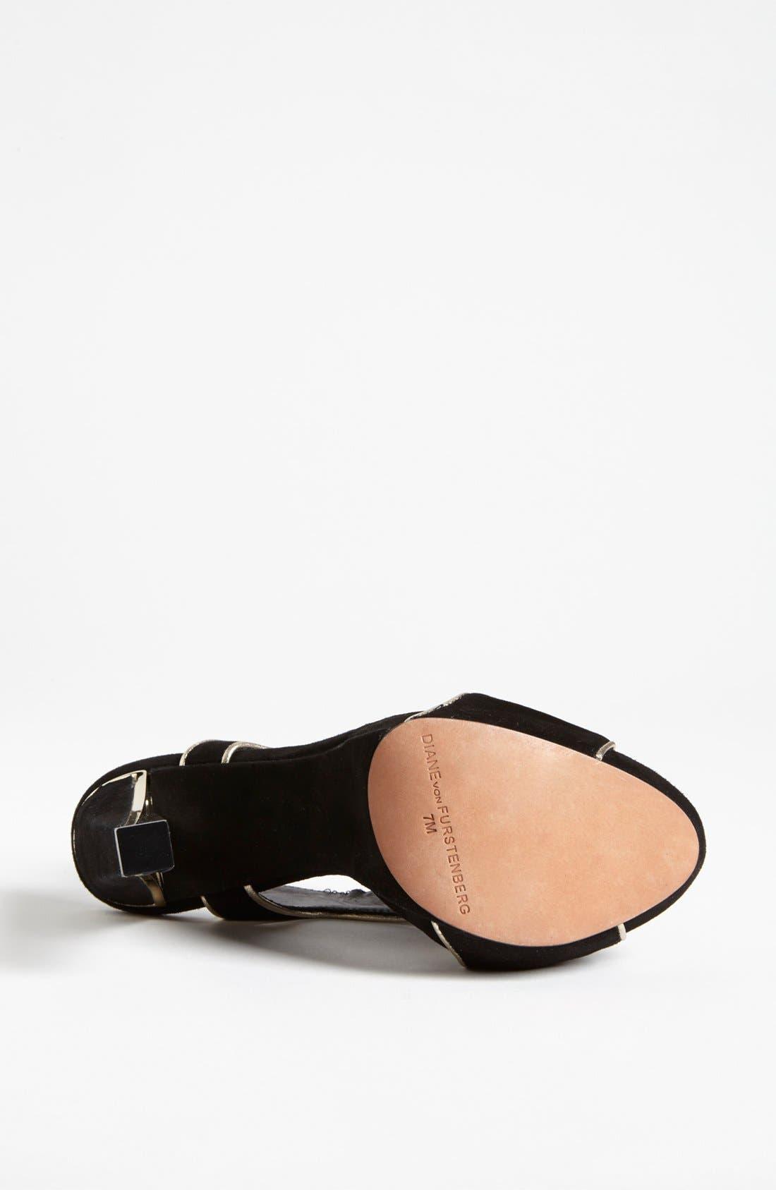 Alternate Image 4  - Diane von Furstenberg 'Julia' Sandal (Online Only)