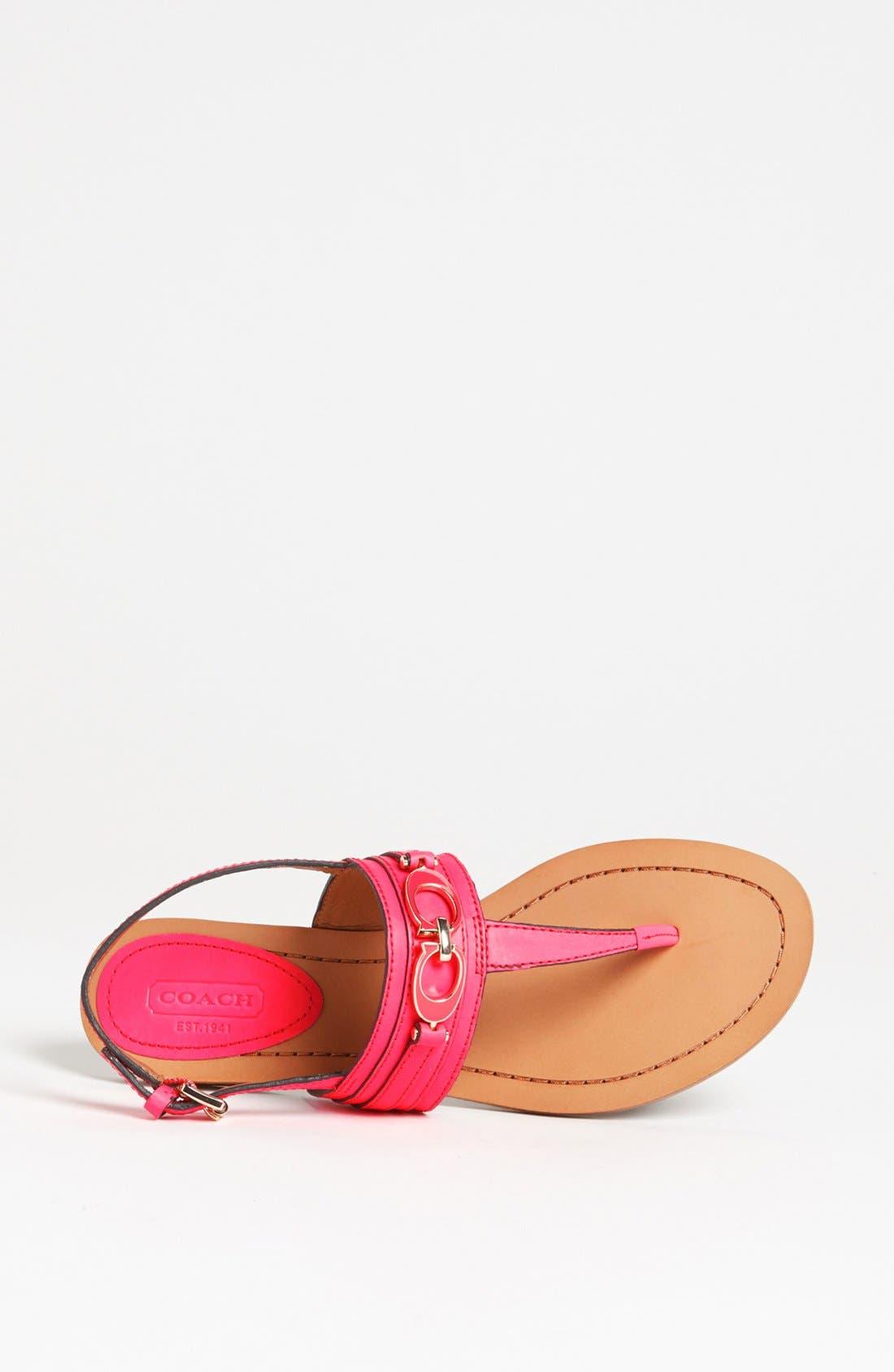 Alternate Image 3  - COACH 'Sammy' Sandal