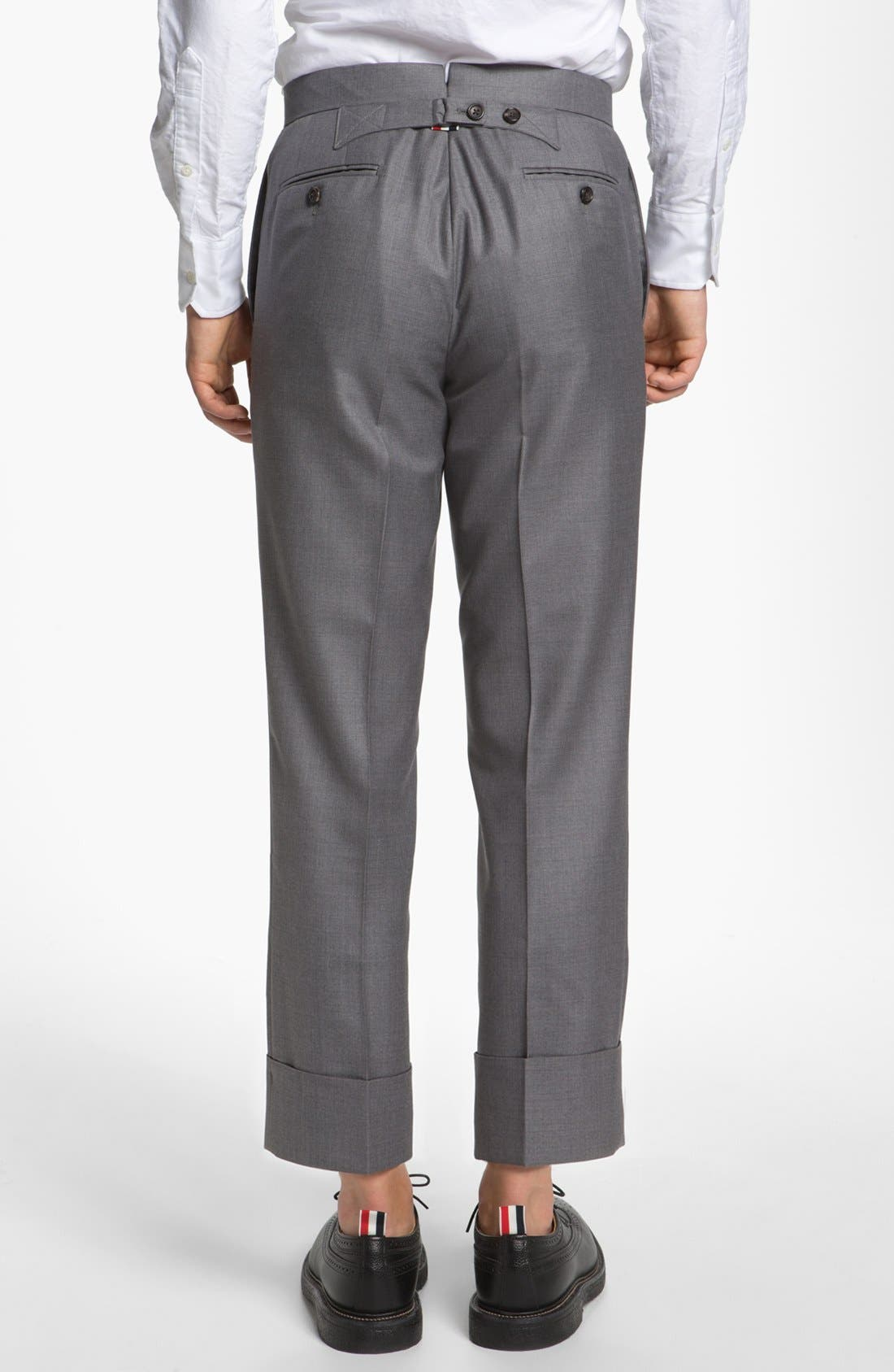 Alternate Image 2  - Thom Browne Wool & Cashmere Trousers