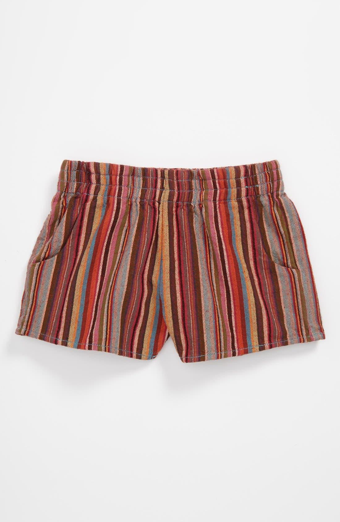 Alternate Image 1 Selected - Peek 'Maya' Shorts (Toddler, Little Girls & Big Girls)