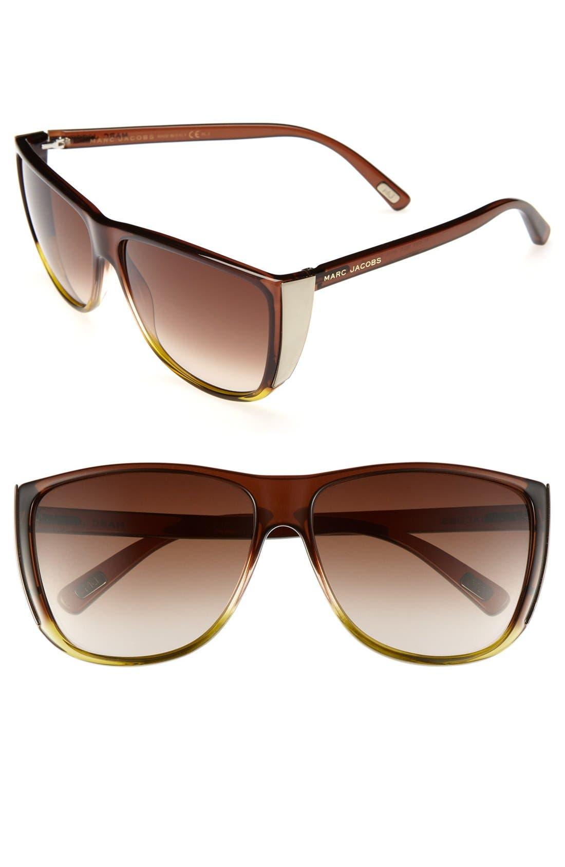 Main Image - MARC JACOBS 60mm Retro Sunglasses