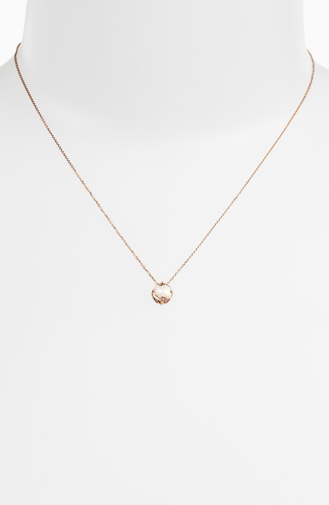 Alternate Image 2  - KALAN by Suzanne Kalan Round Stone Drop Necklace