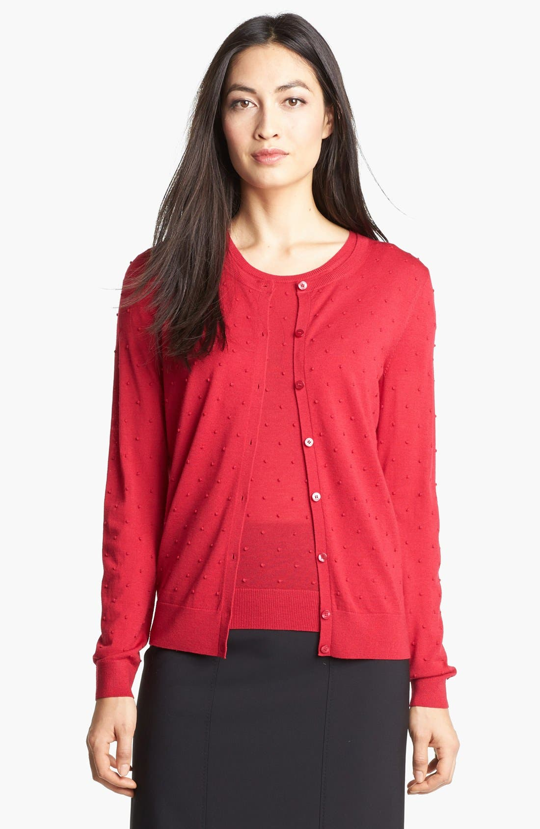 Alternate Image 1 Selected - BOSS HUGO BOSS Crewneck Cardigan