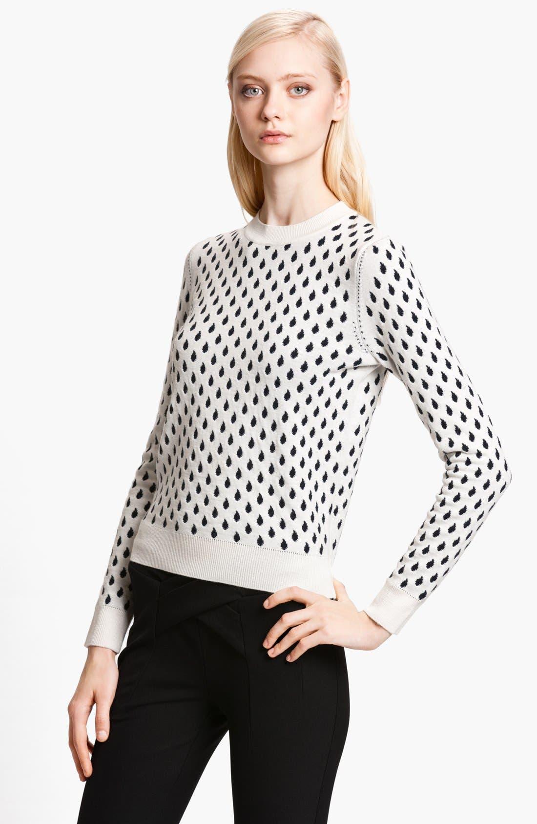 Alternate Image 1 Selected - KENZO 'Rain Drop' Jacquard Sweater