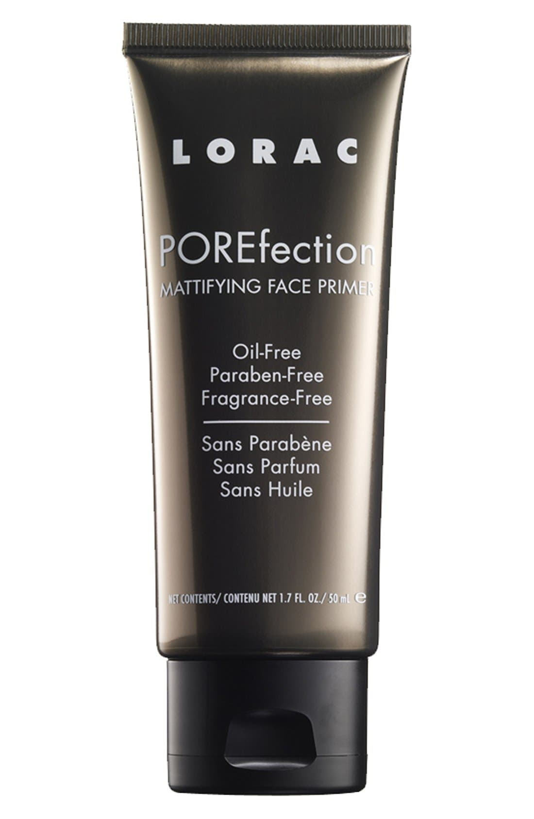 LORAC 'POREfection®' Mattifying Face Primer