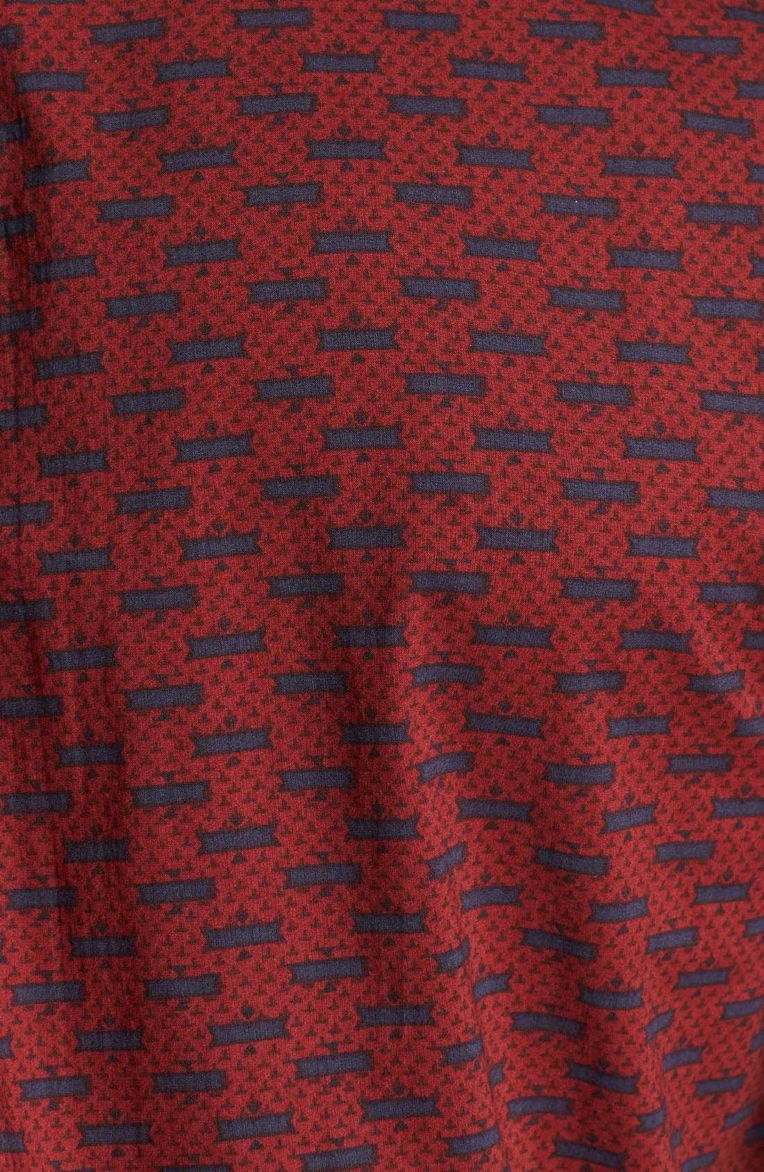Alternate Image 2  - RVCA 'Chronicles' Print Woven Shirt