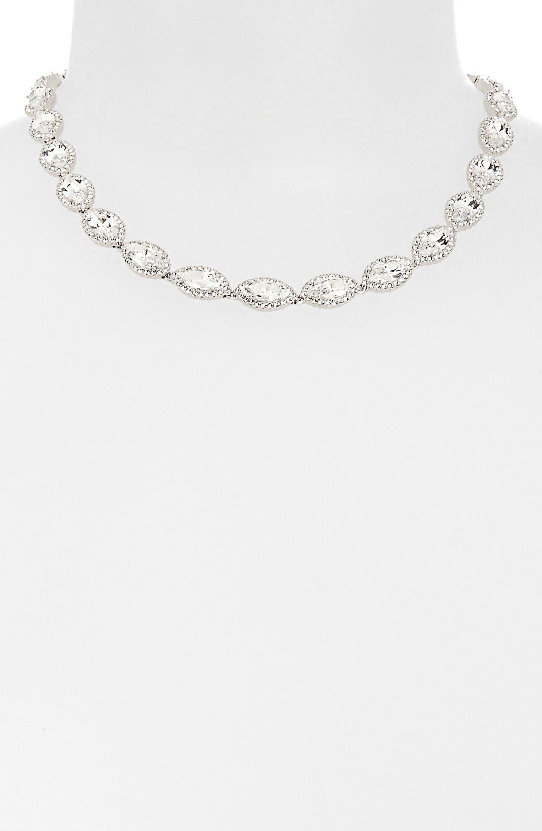 Alternate Image 2  - Nadri 'Marquise' Cubic Zirconia Necklace