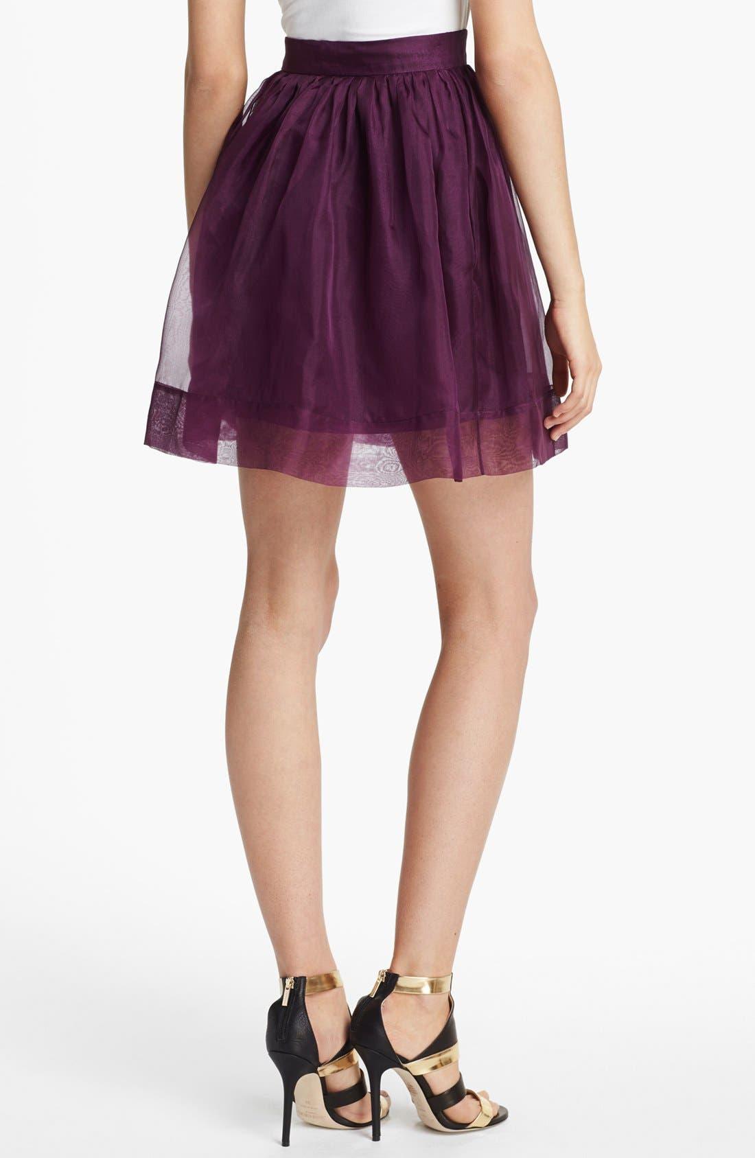 Alternate Image 2  - Elizabeth and James 'Sarafina' Silk Skirt