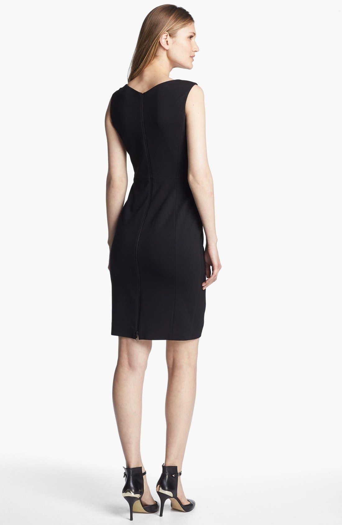 Alternate Image 2  - Classiques Entier® 'Geneva Jacquard' Sheath Dress