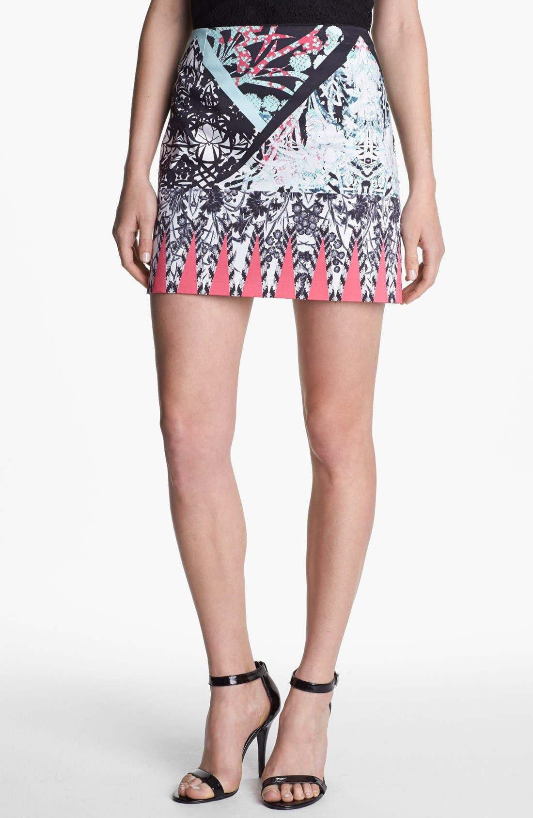 Alternate Image 1 Selected - Kenneth Cole New York 'Juliet' Print Skirt