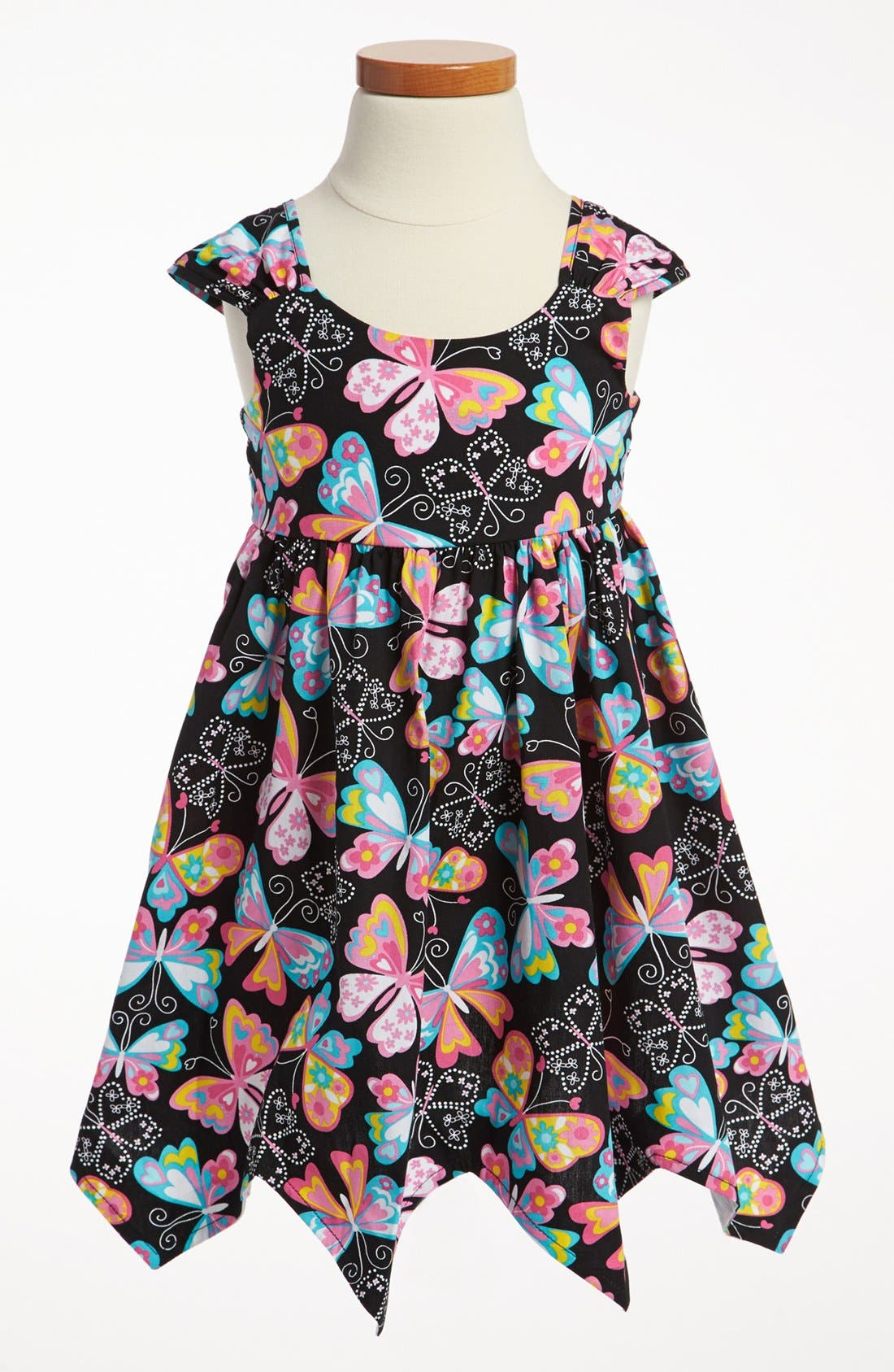 Alternate Image 1 Selected - Iris & Ivy Apron Dress (Toddler)