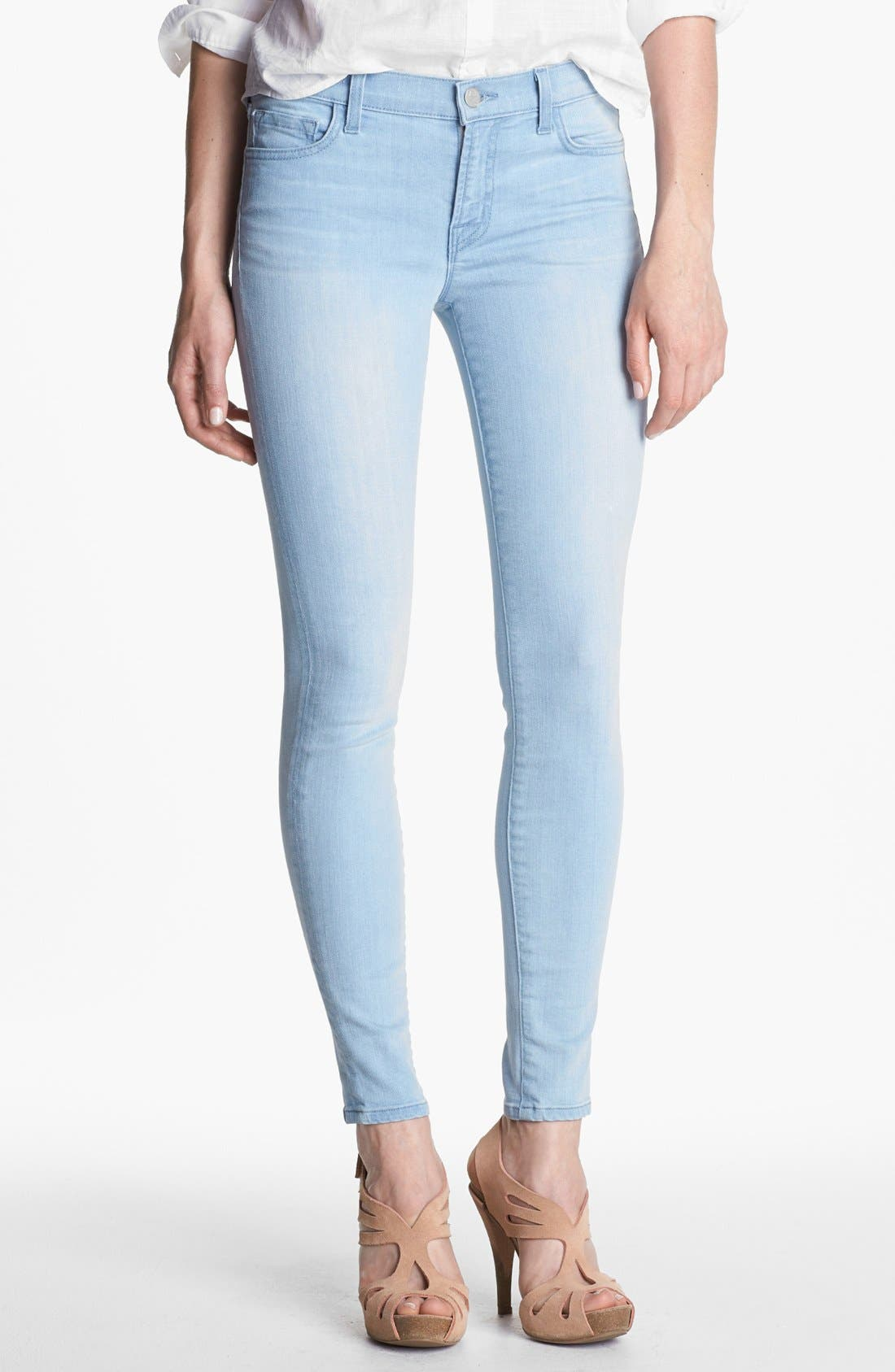 Alternate Image 1 Selected - J Brand '811' Mid-Rise Skinny Jeans (Journey)
