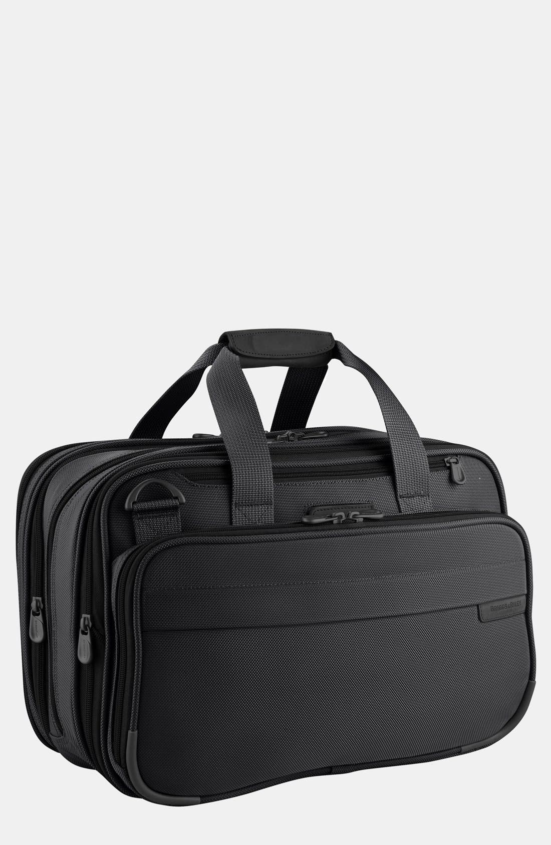 Expandable Cabin Bag,                             Main thumbnail 1, color,                             Black