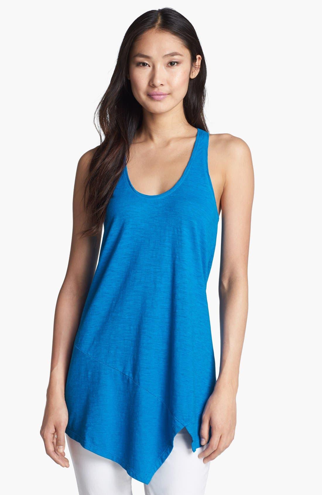 Alternate Image 1 Selected - Eileen Fisher U-Neck Hemp & Organic Cotton Tunic
