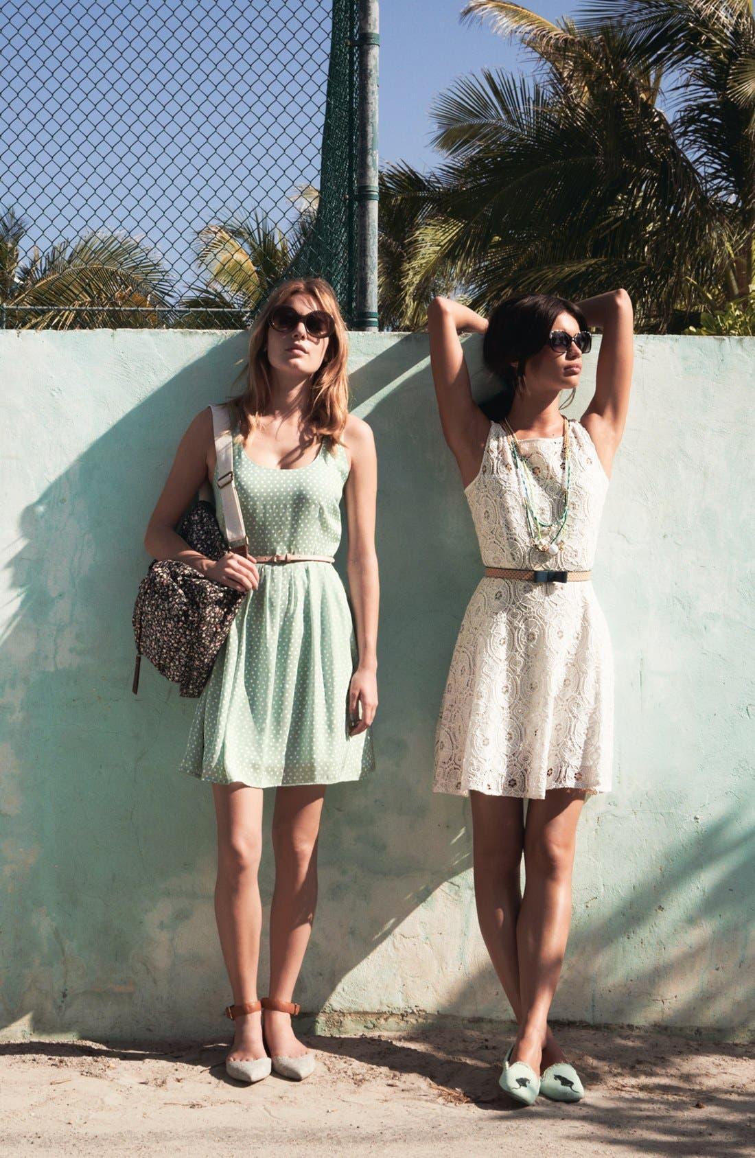 Alternate Image 1 Selected - BB Dakota Dress & Accessories