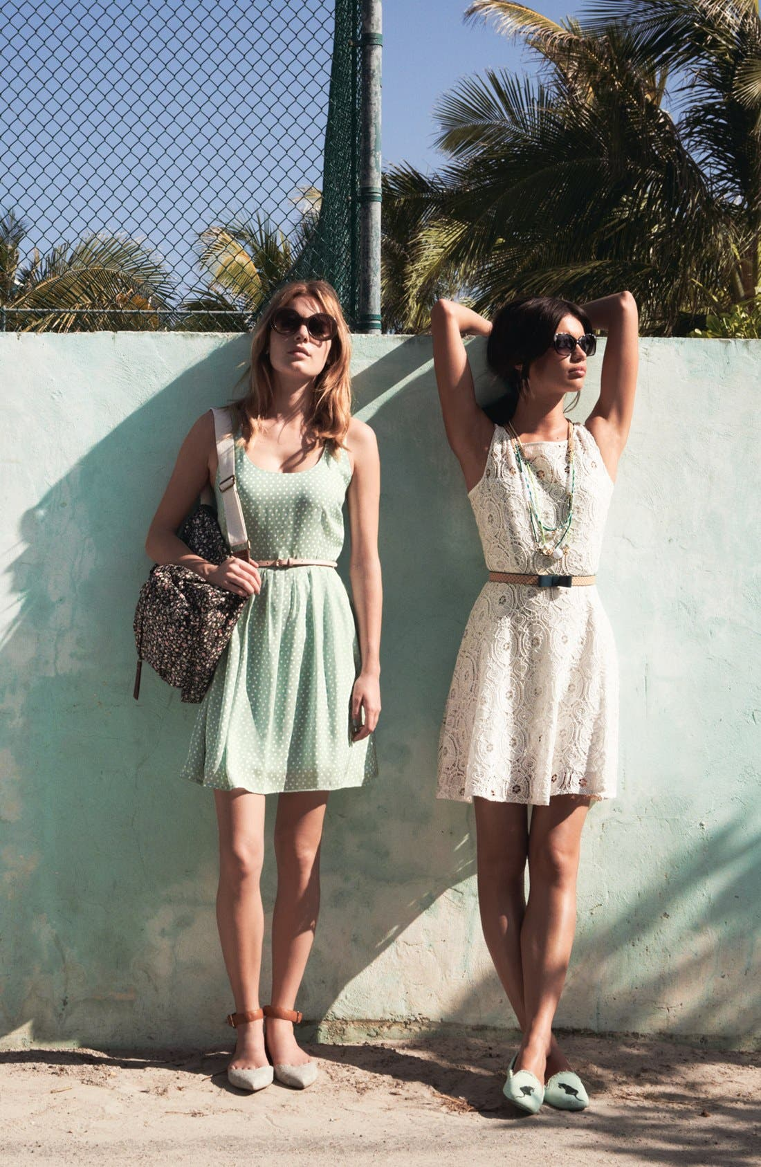 Main Image - BB Dakota Dress & Accessories