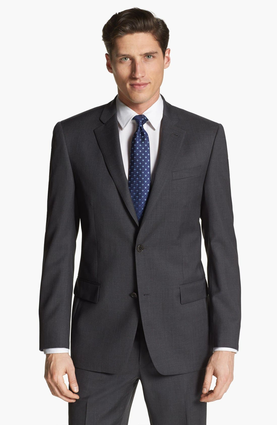 Alternate Image 1 Selected - John Varvatos Star USA 'Loft' Trim Fit Sportcoat