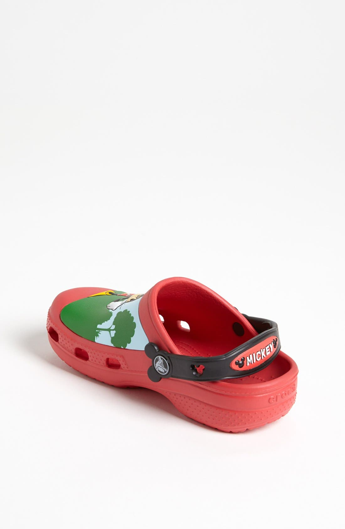 Alternate Image 2  - CROCS™ 'Mickey® Whistles' Clog (Walker, Toddler &  Little Kid)