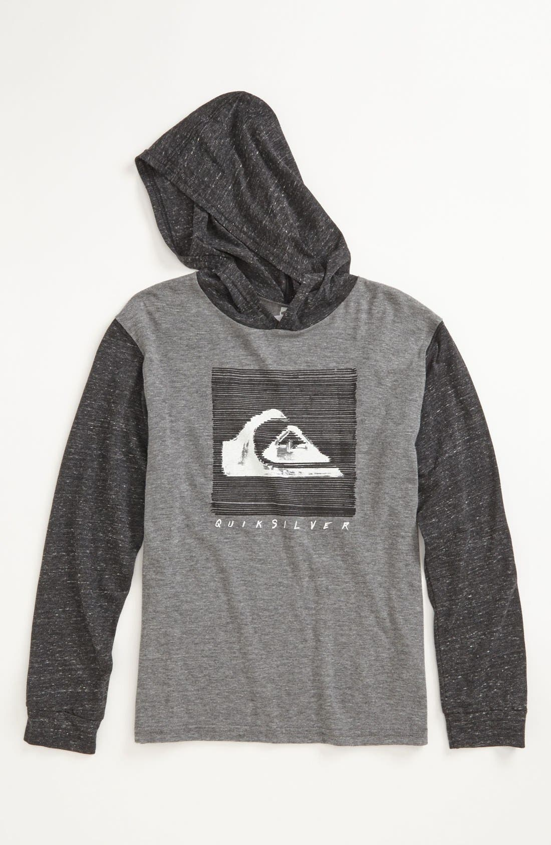 Main Image - Quiksilver 'Liner Notes' Hoodie (Little Boys & Big Boys)