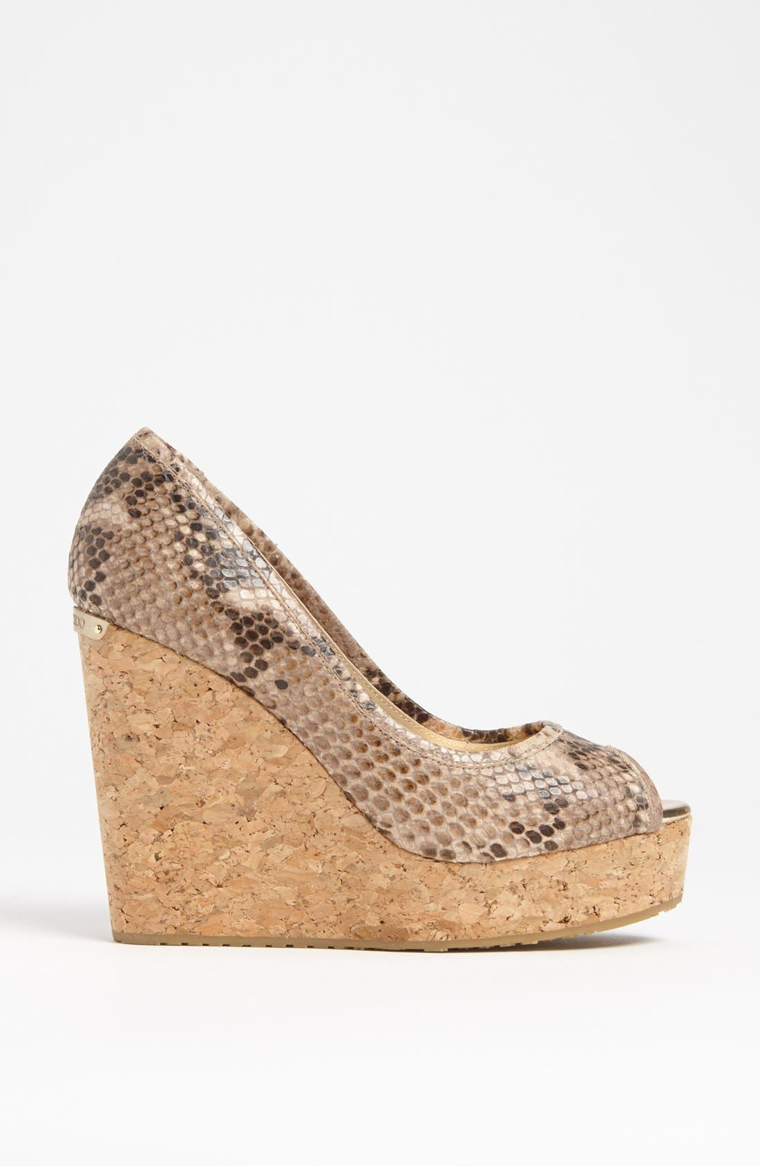 Alternate Image 4  - Jimmy Choo 'Papina' Cork Wedge Pump