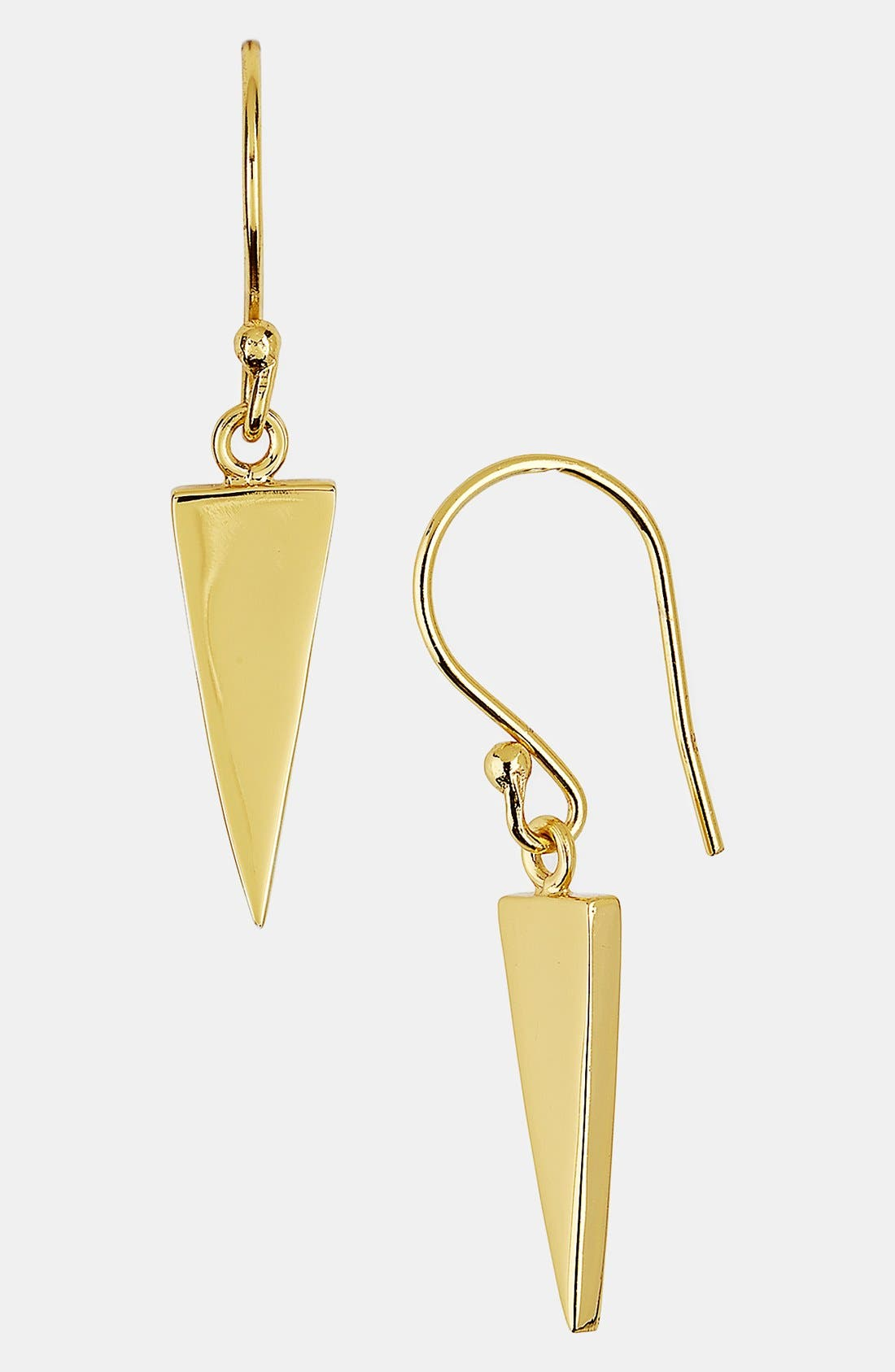 Alternate Image 1 Selected - Argento Vivo 'Smooth' Drop Earrings (Online Only)