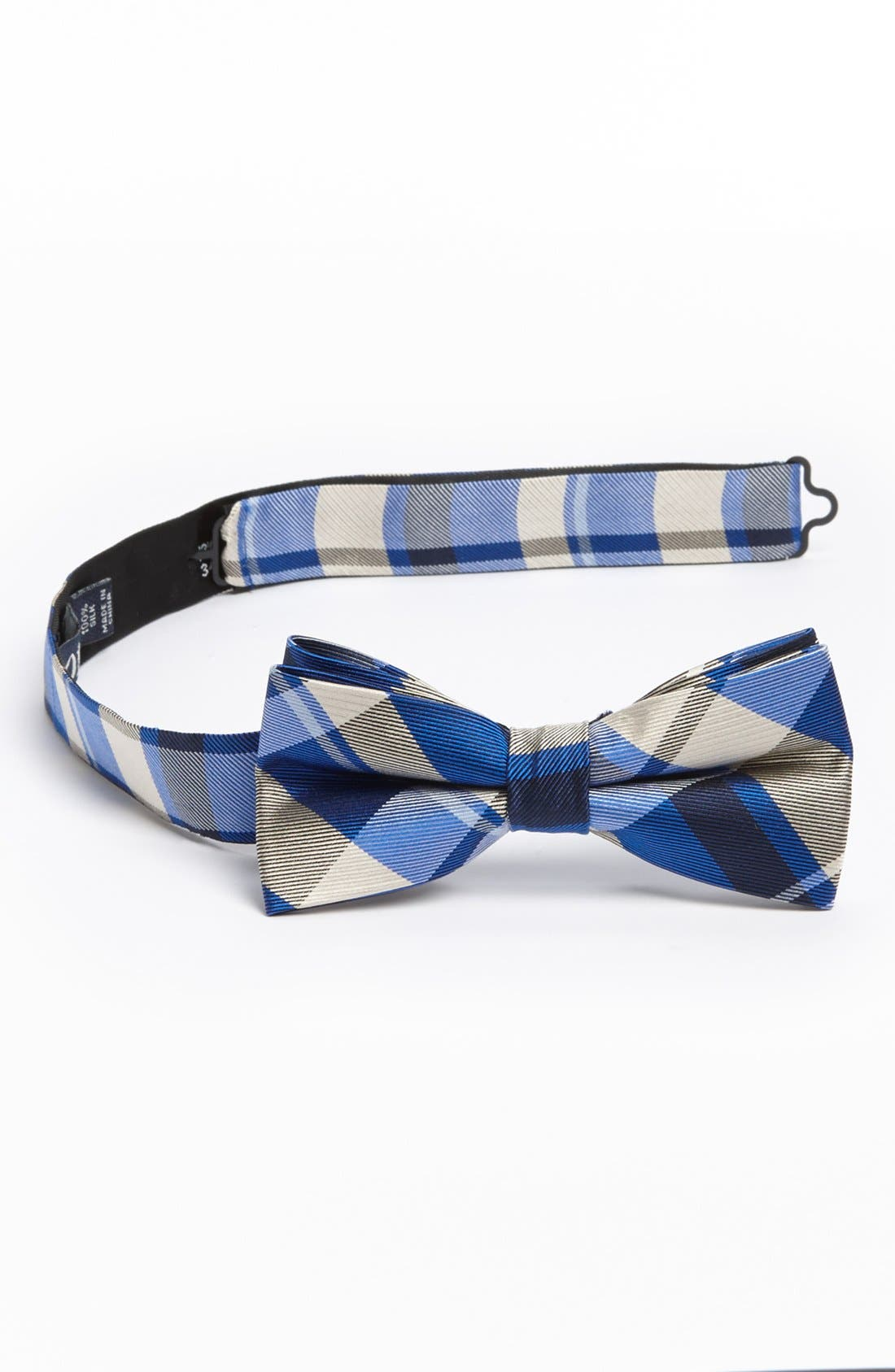 Main Image - 1901 Woven Silk Bow Tie