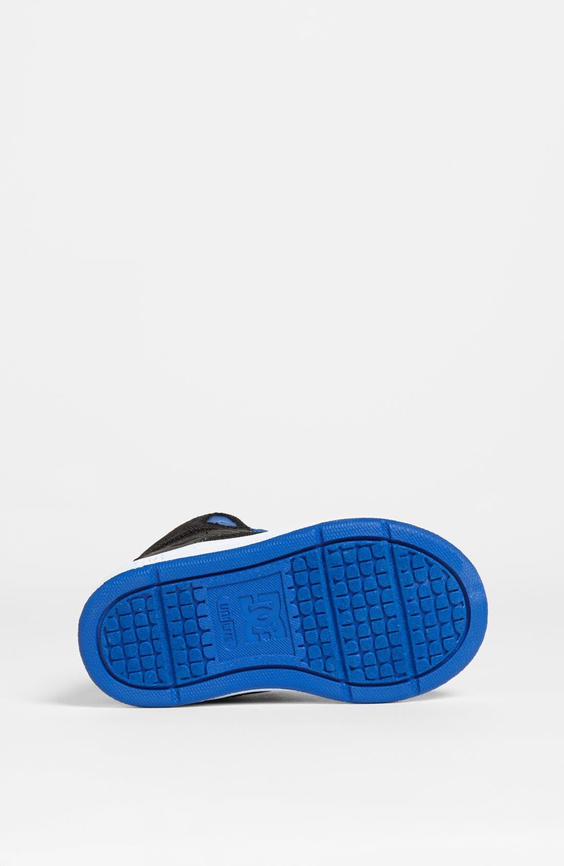 Alternate Image 4  - DC Shoes 'Rebound' Sneaker (Walker & Toddler)