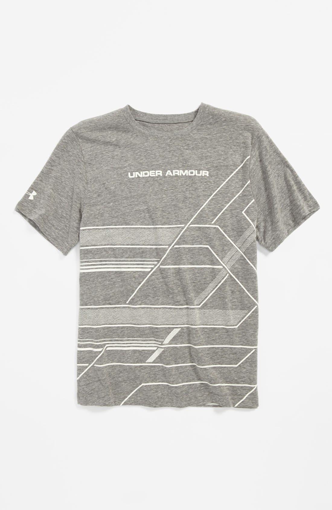 Main Image - Under Armour 'Domineer' T-Shirt (Big Boys)