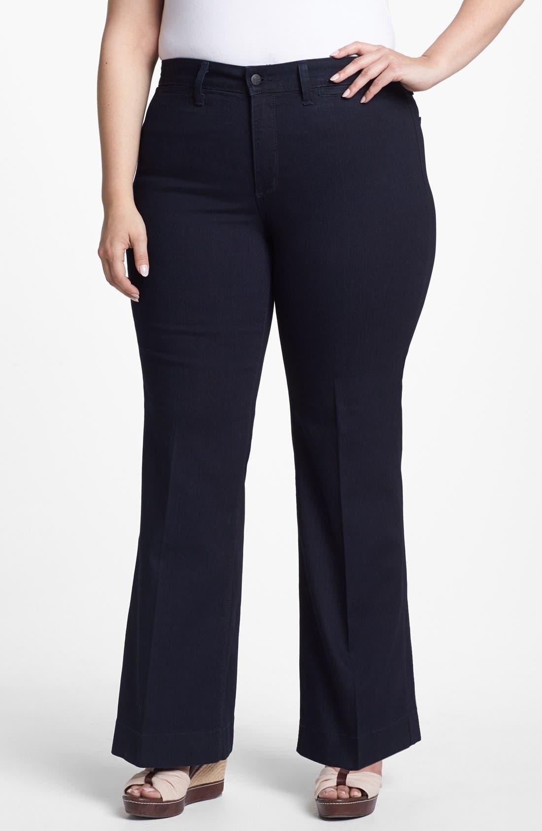 Alternate Image 1 Selected - NYDJ 'Greta' Trouser Jeans (Plus Size)