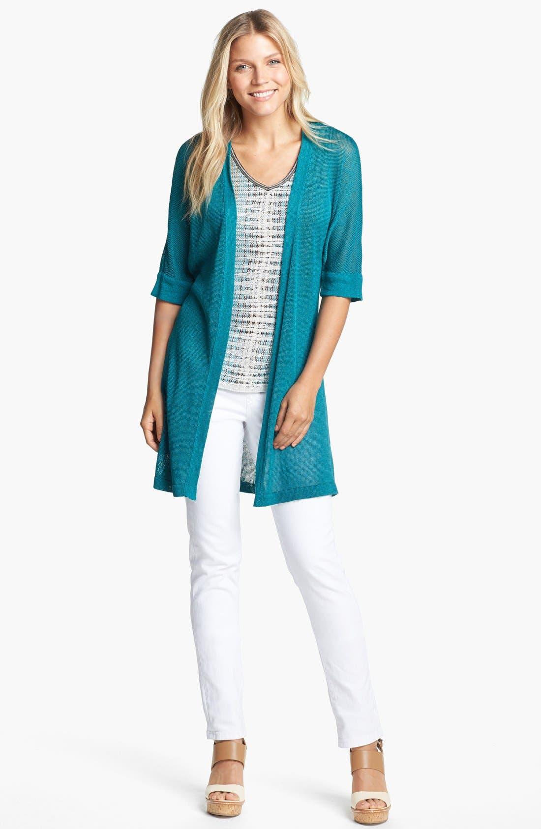 Alternate Image 3  - NIC+ZOE 'Canopy' Sweater (Regular & Petite)