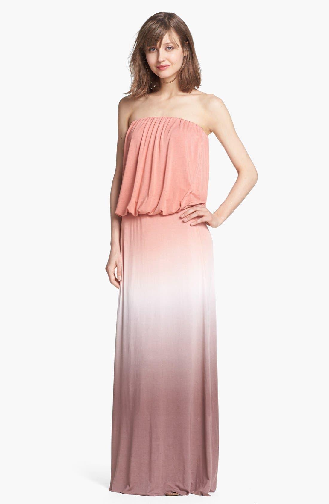 Alternate Image 1 Selected - Young, Fabulous & Broke 'Sydney' Ombré Maxi Dress