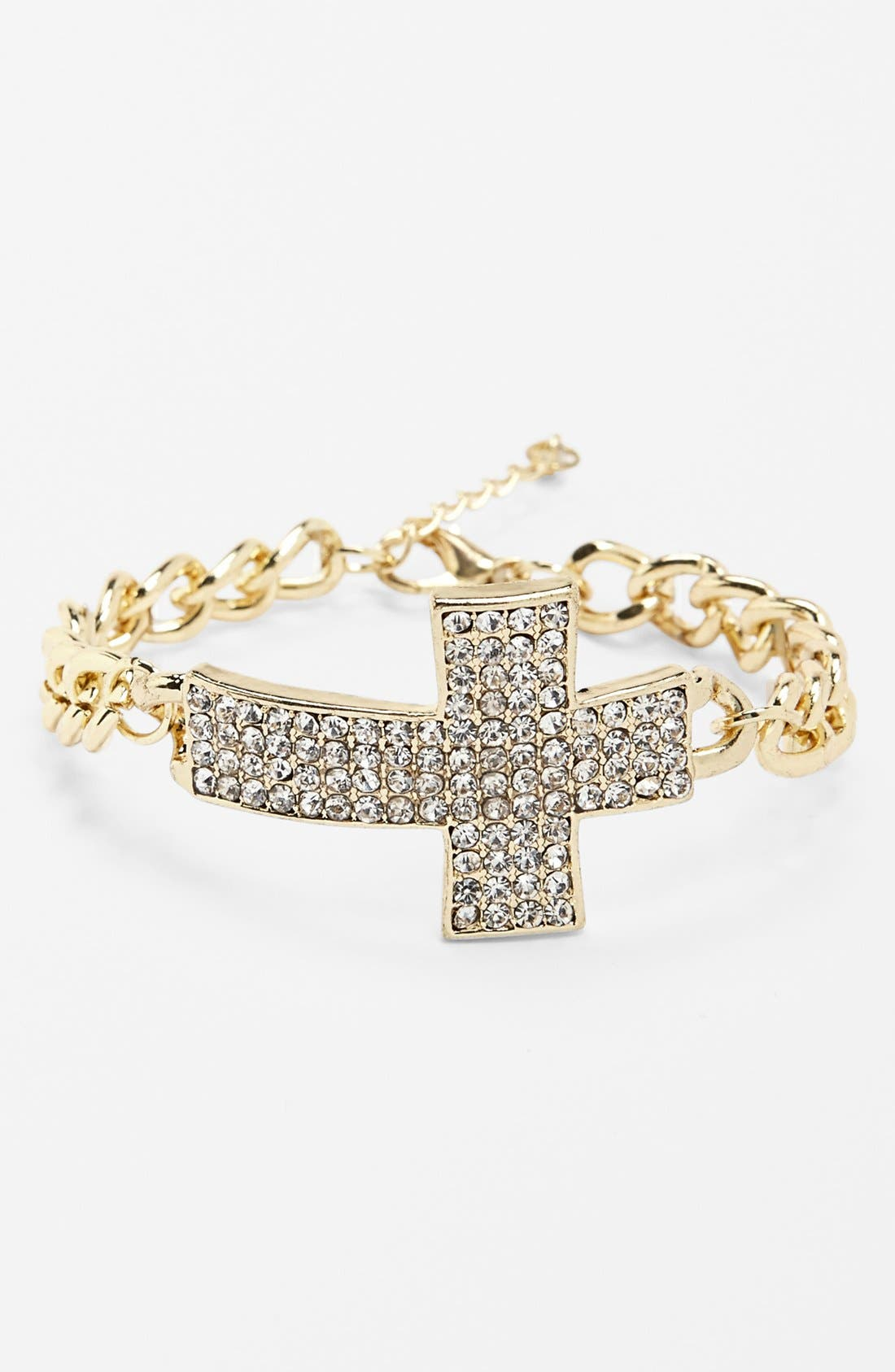 Alternate Image 1 Selected - Kool Konnections Chain Bracelet (Juniors) (Online Only)