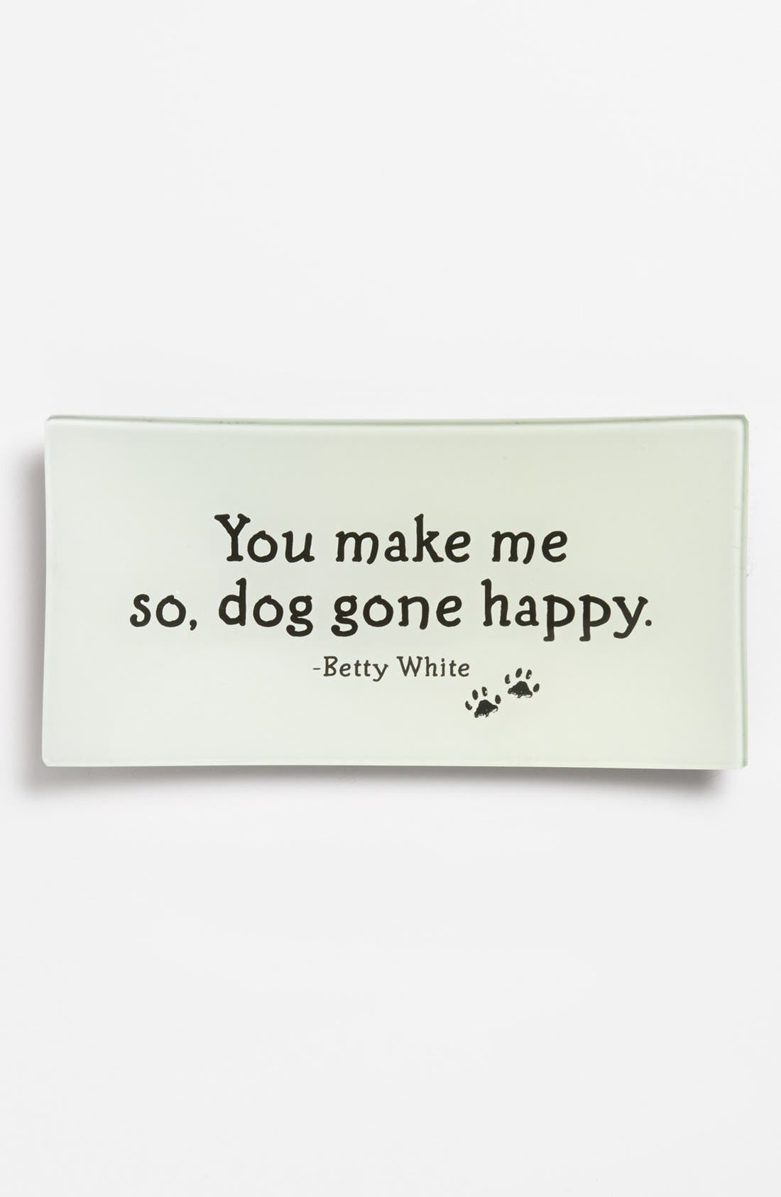 Alternate Image 1 Selected - Ben's Garden 'You Make Me So Dog Gone Happy' Trinket Tray