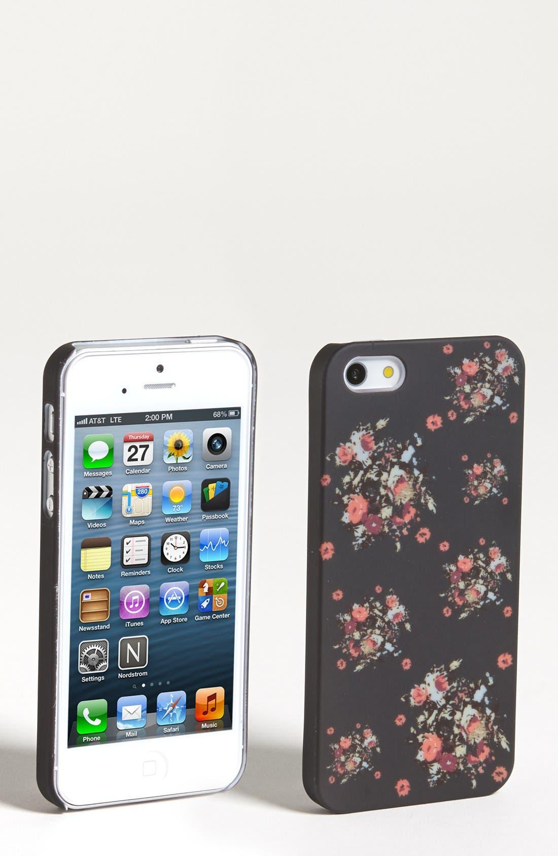 Alternate Image 1 Selected - BP. Floral iPhone 5 Case (Juniors)