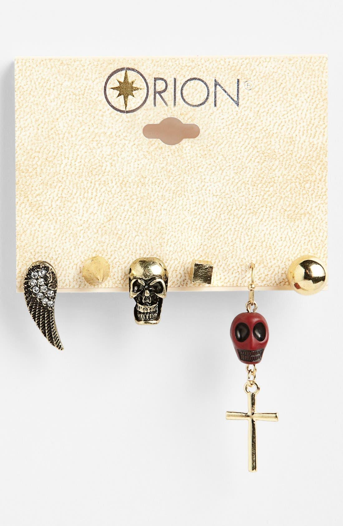Alternate Image 1 Selected - Orion Assorted Earrings (Set of 6)