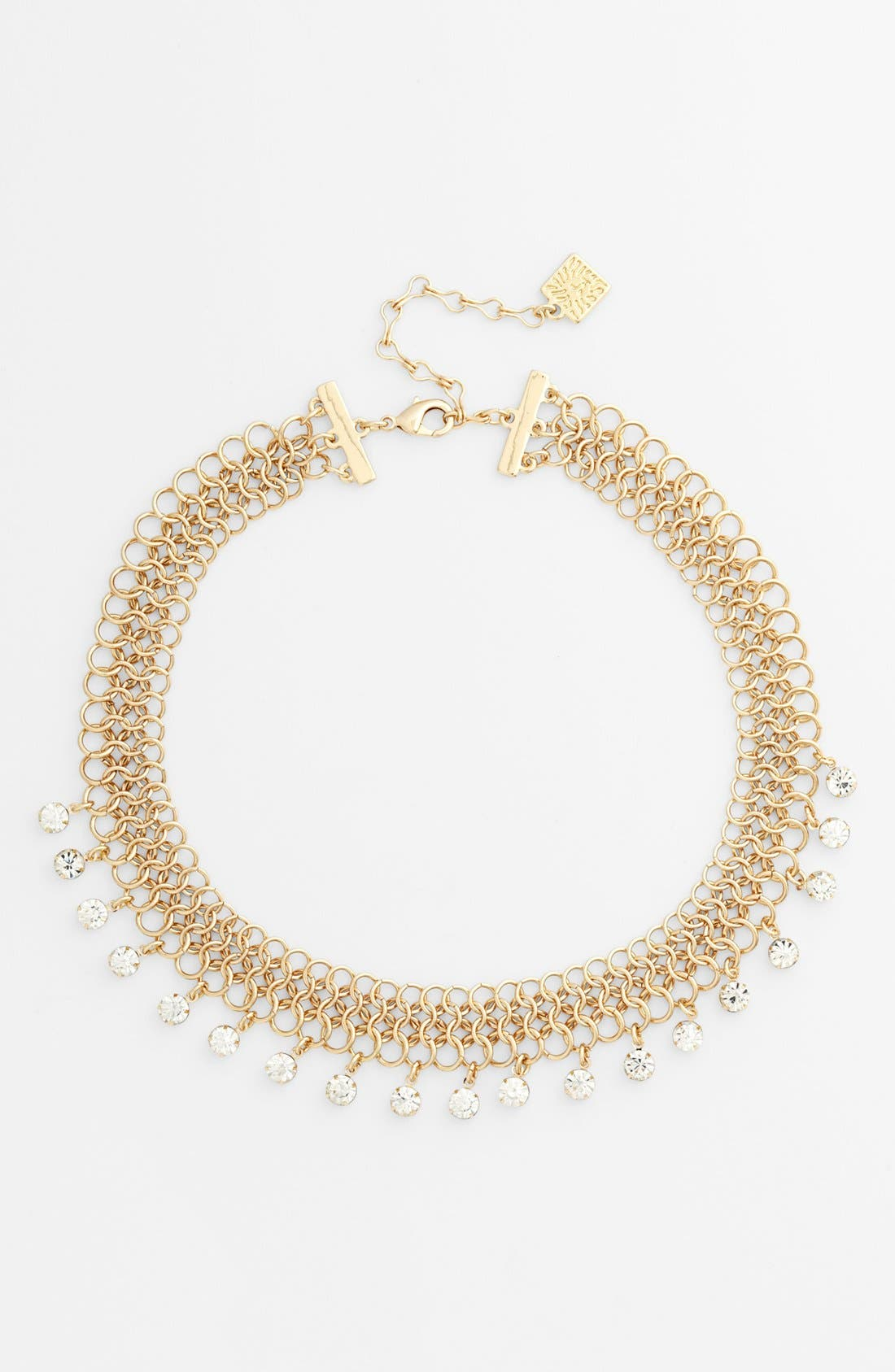 Alternate Image 1 Selected - Anne Klein Mesh Collar Necklace