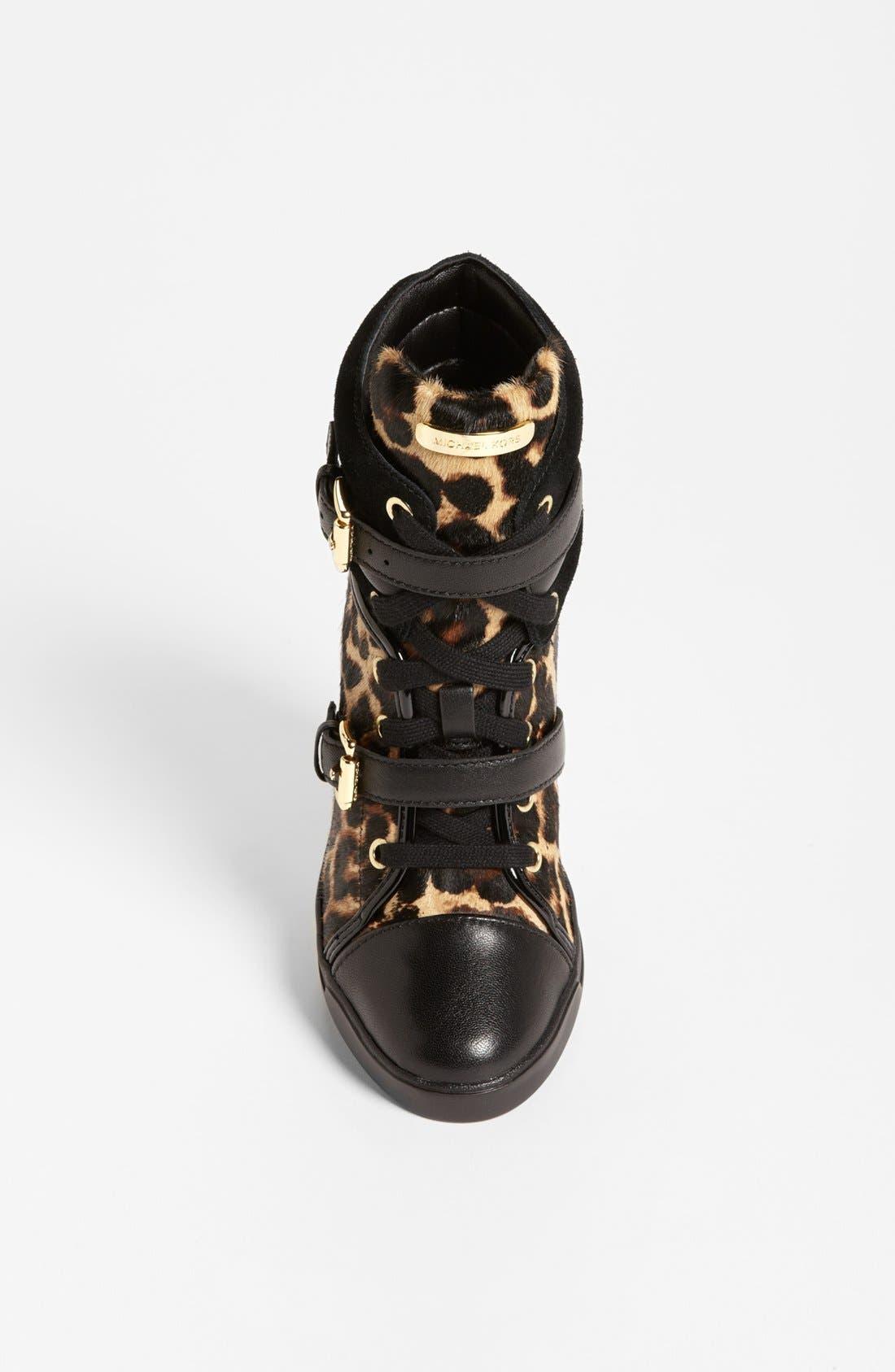 Alternate Image 3  - MICHAEL Michael Kors 'Skid' Wedge Sneaker