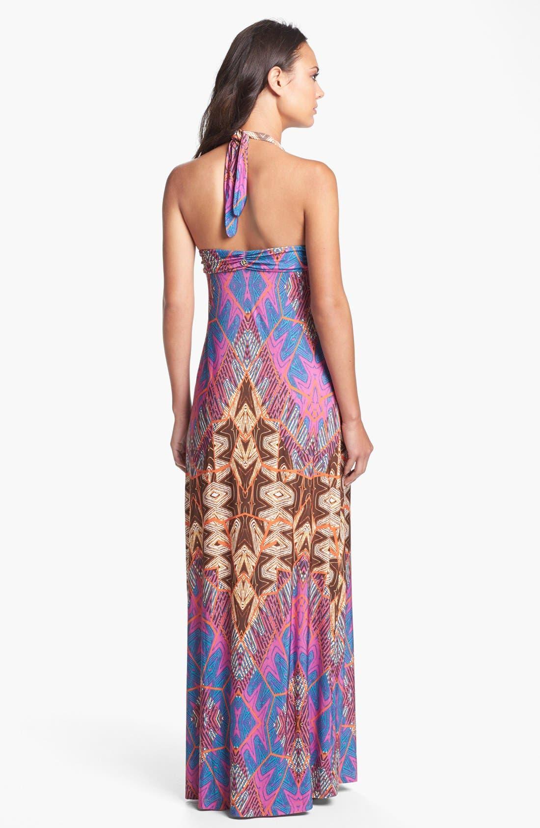 Alternate Image 2  - ViX Swimwear 'St. Martin' Cover-Up Maxi Dress