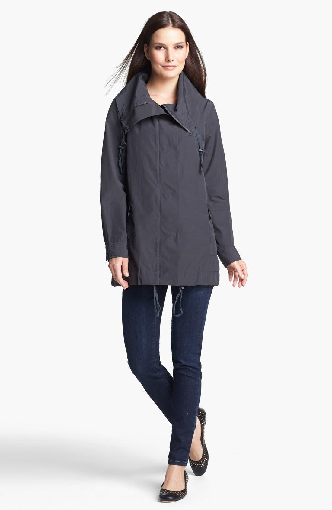 Alternate Image 3  - Eileen Fisher Oversized Collar Jacket