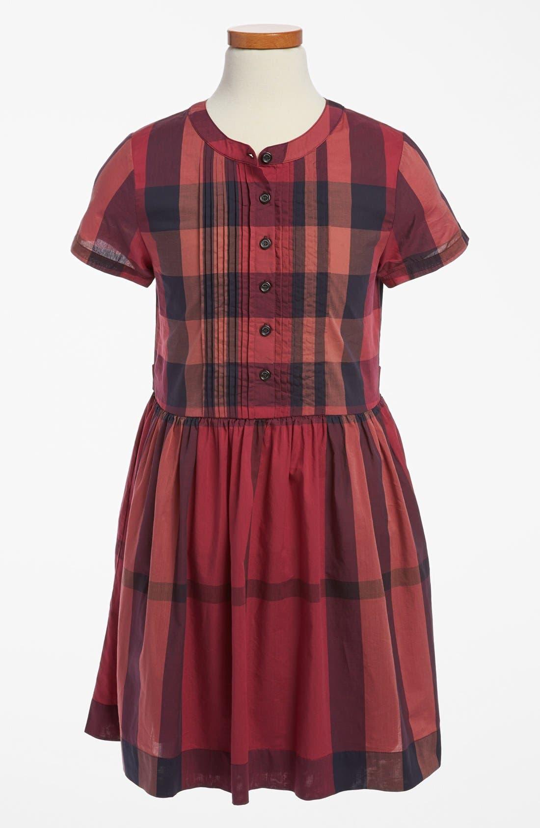 Alternate Image 1 Selected - Burberry 'Dally' Dress (Little Girls & Big Girls)