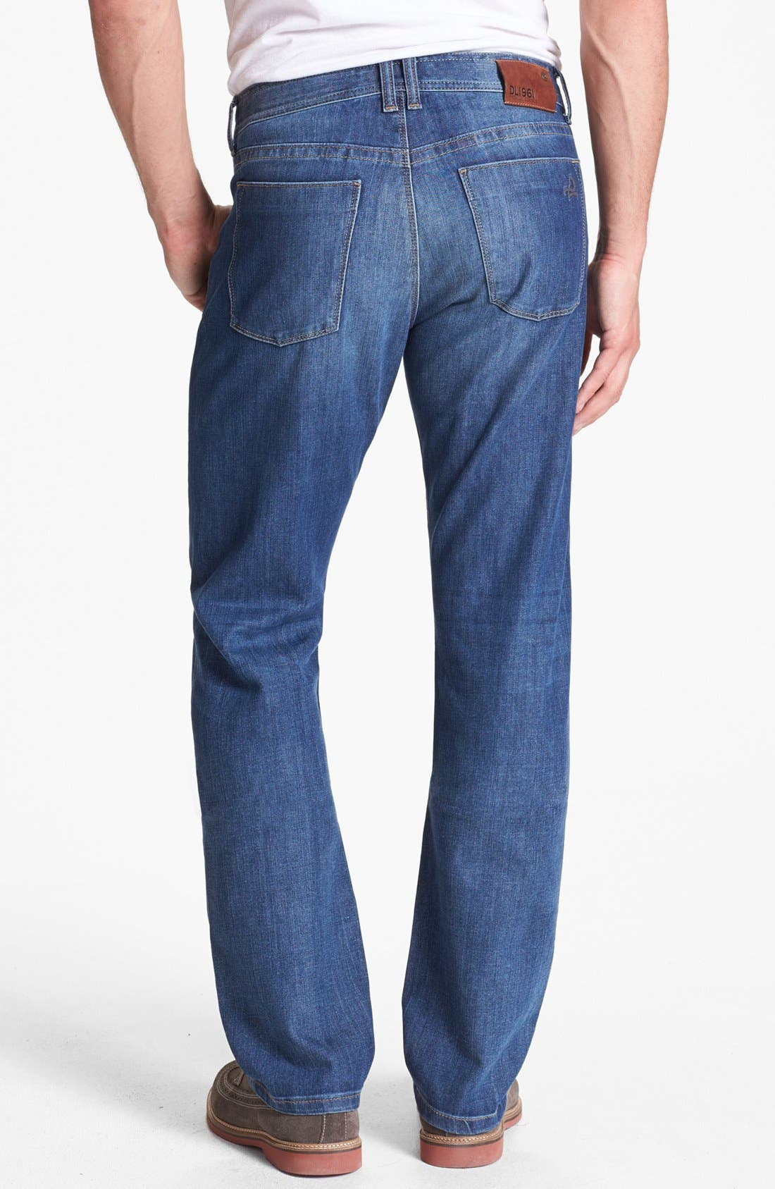 Alternate Image 2  - DL1961 'Vince' Straight Leg Jeans (Charger)
