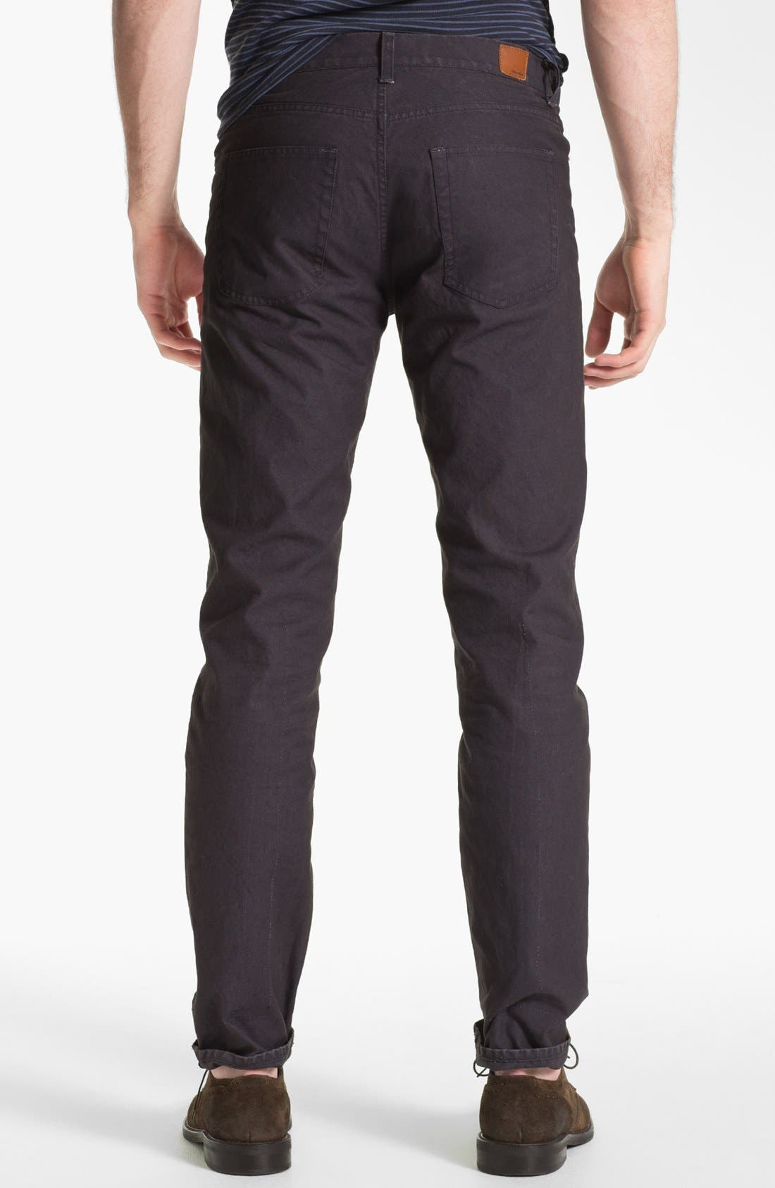 Alternate Image 2  - Steven Alan Slim Straight Leg Pants