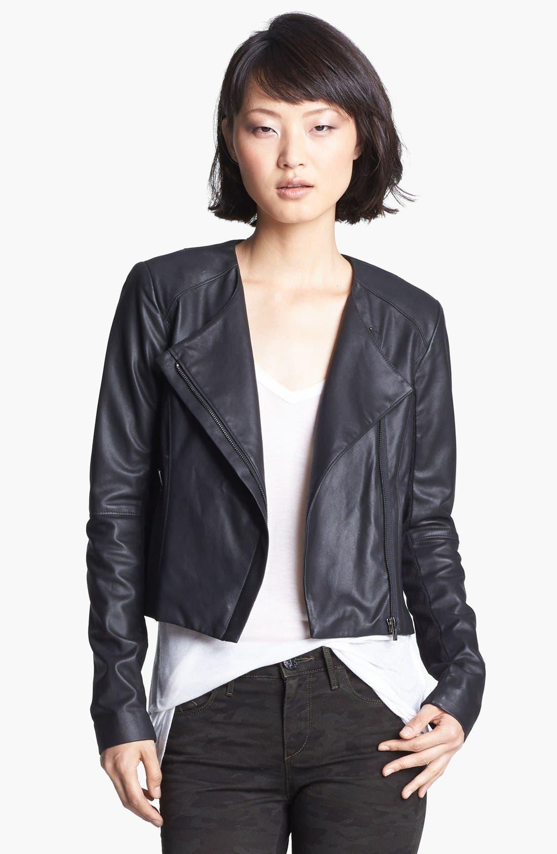 Alternate Image 1 Selected - Veda 'Dali' Leather Jacket