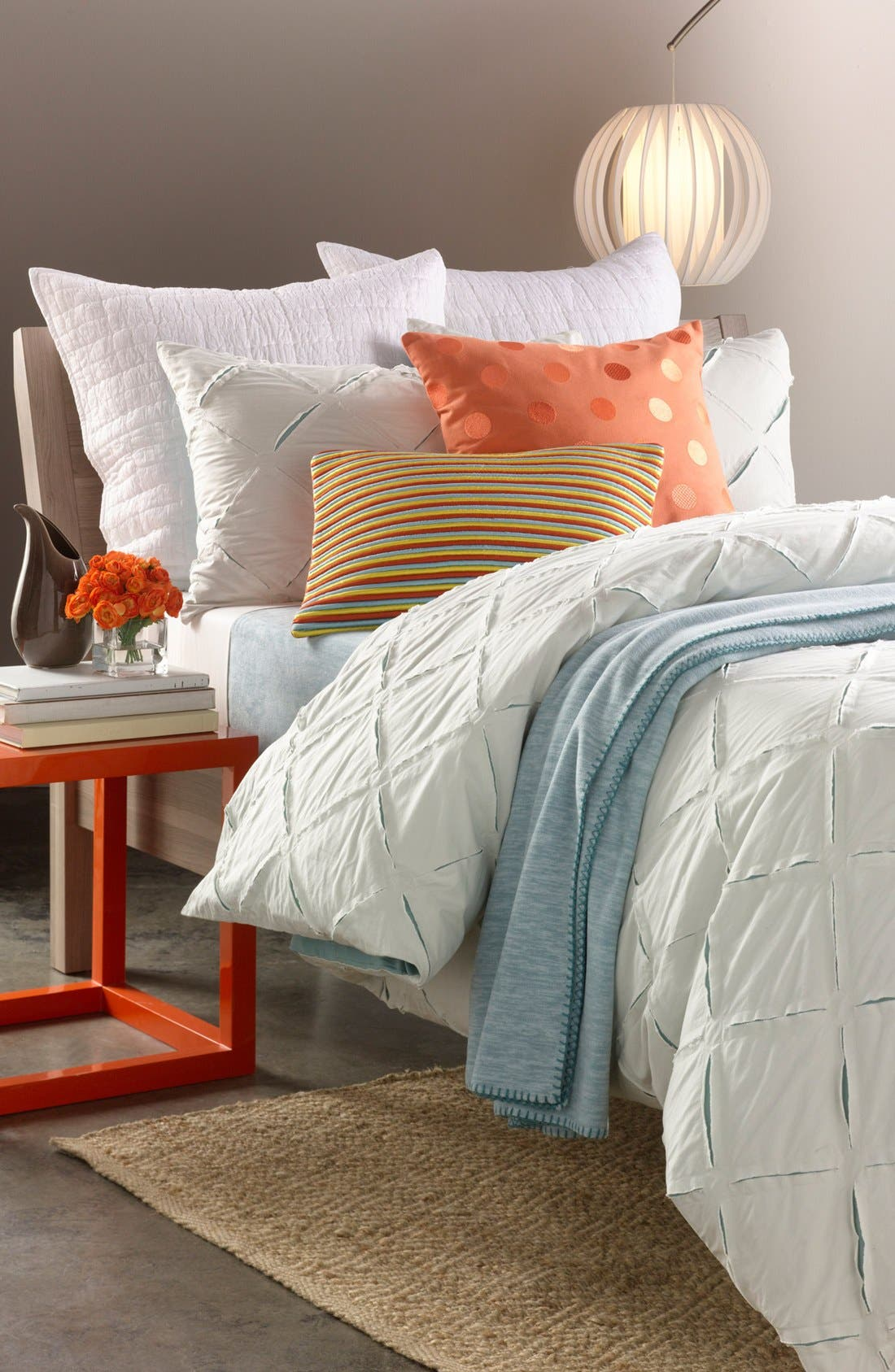Alternate Image 2  - Nordstrom at Home 'Cutting Edge' Duvet Cover
