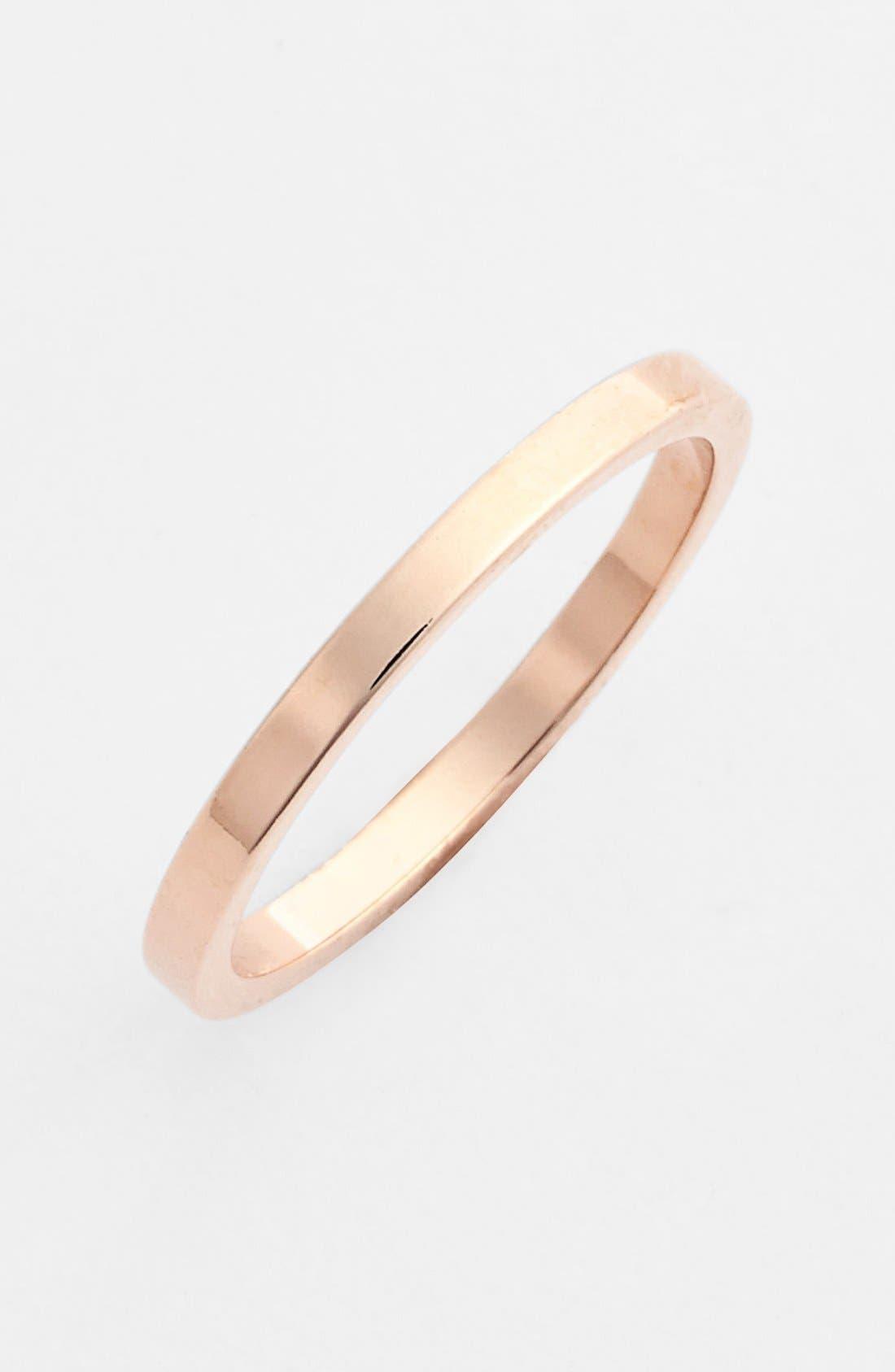 Alternate Image 1 Selected - Rachel 'Smooth' Midi Ring (Juniors)
