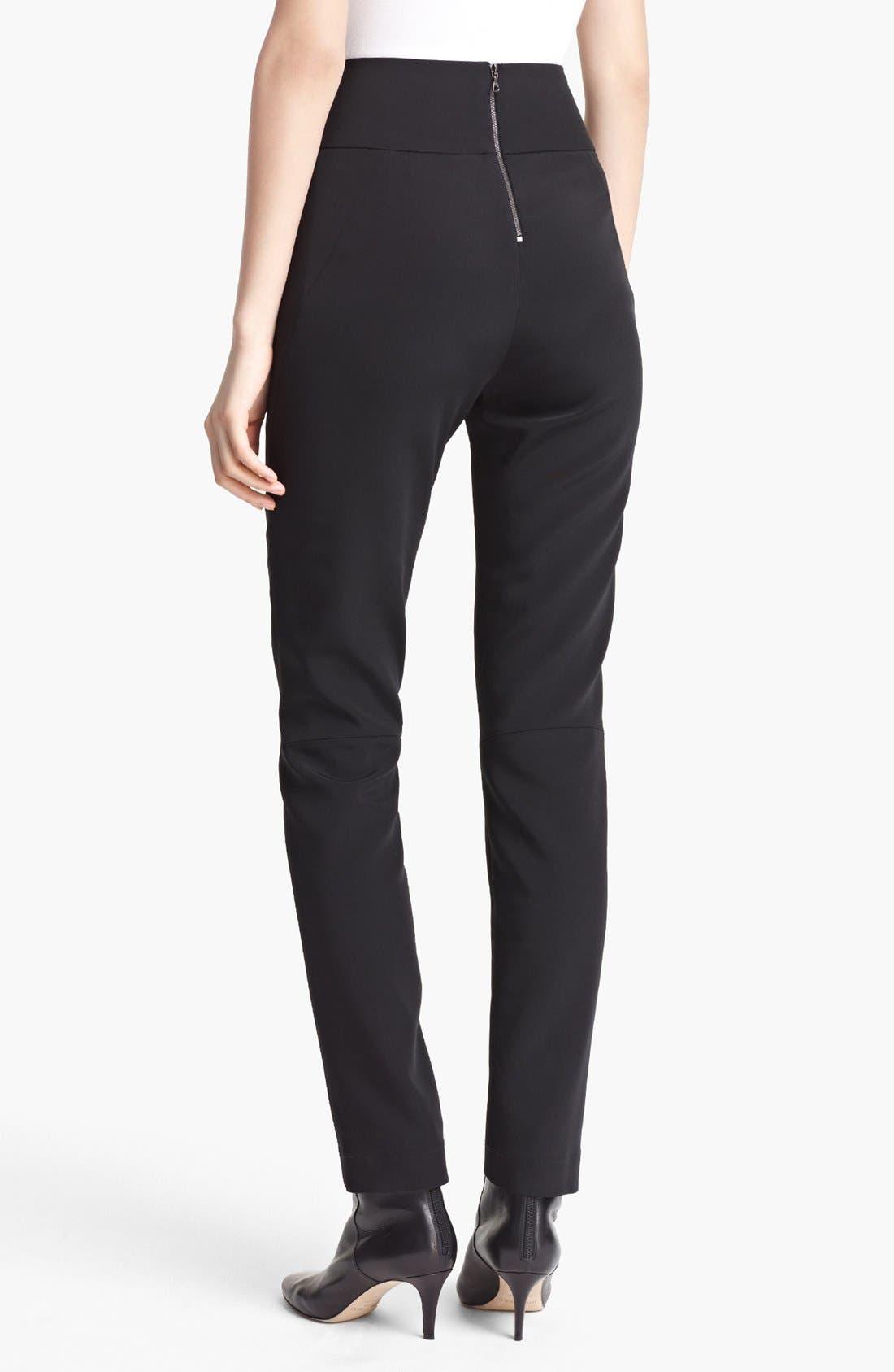 Alternate Image 2  - Lida Baday Skinny Techno Stretch Pants
