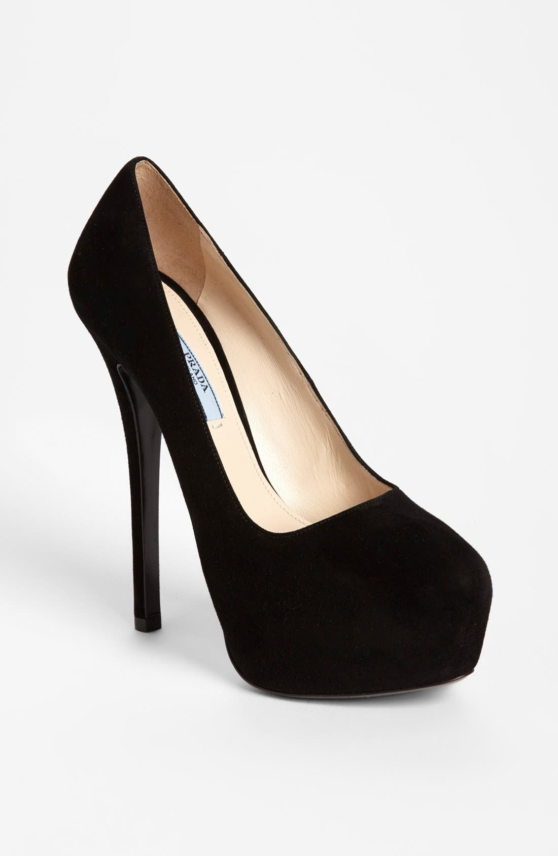 Alternate Image 1 Selected - Prada Platform Pump