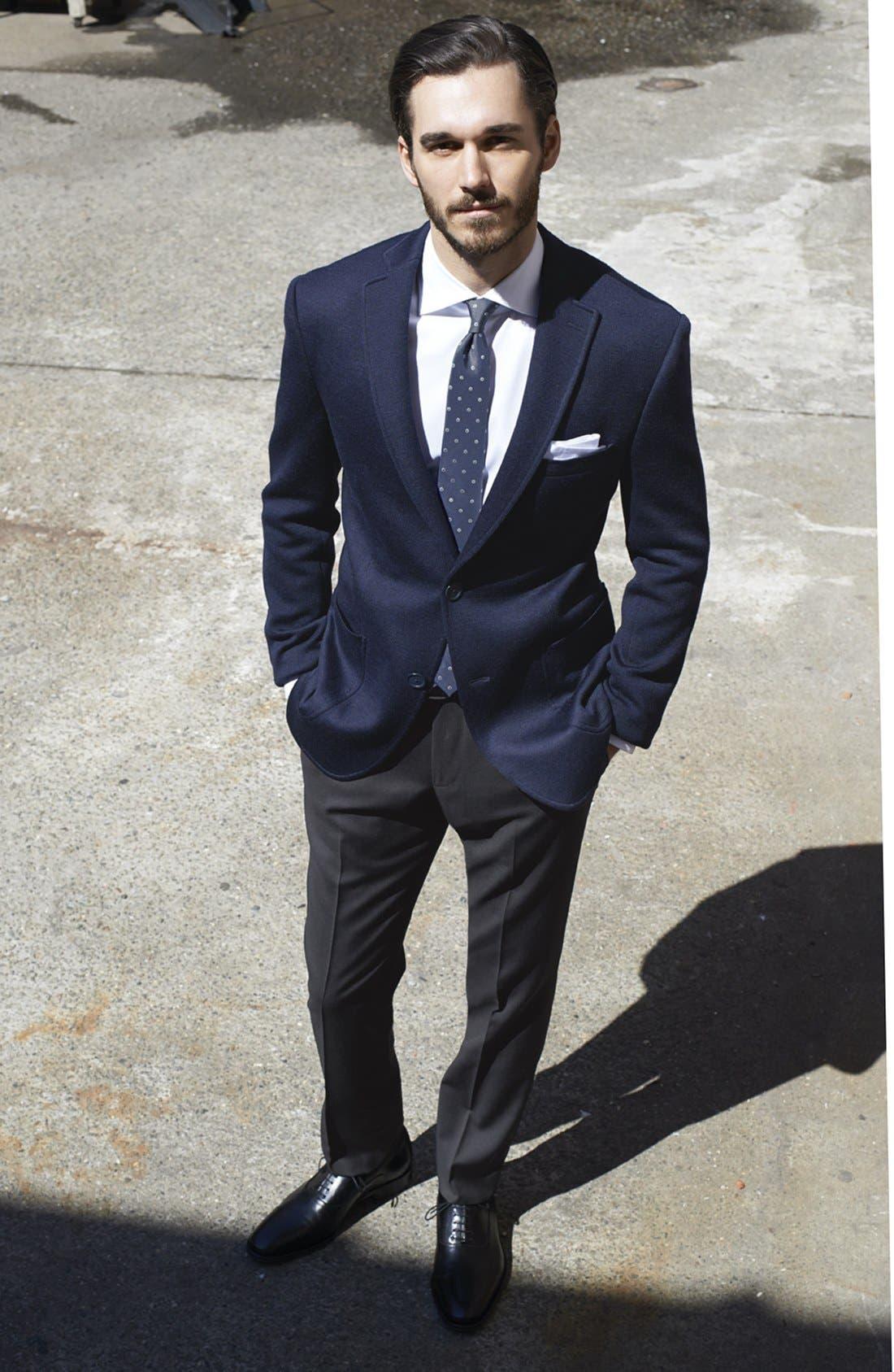 Alternate Image 5  - John Varvatos Star USA 'Fagan' Trim Fit Knit Sportcoat