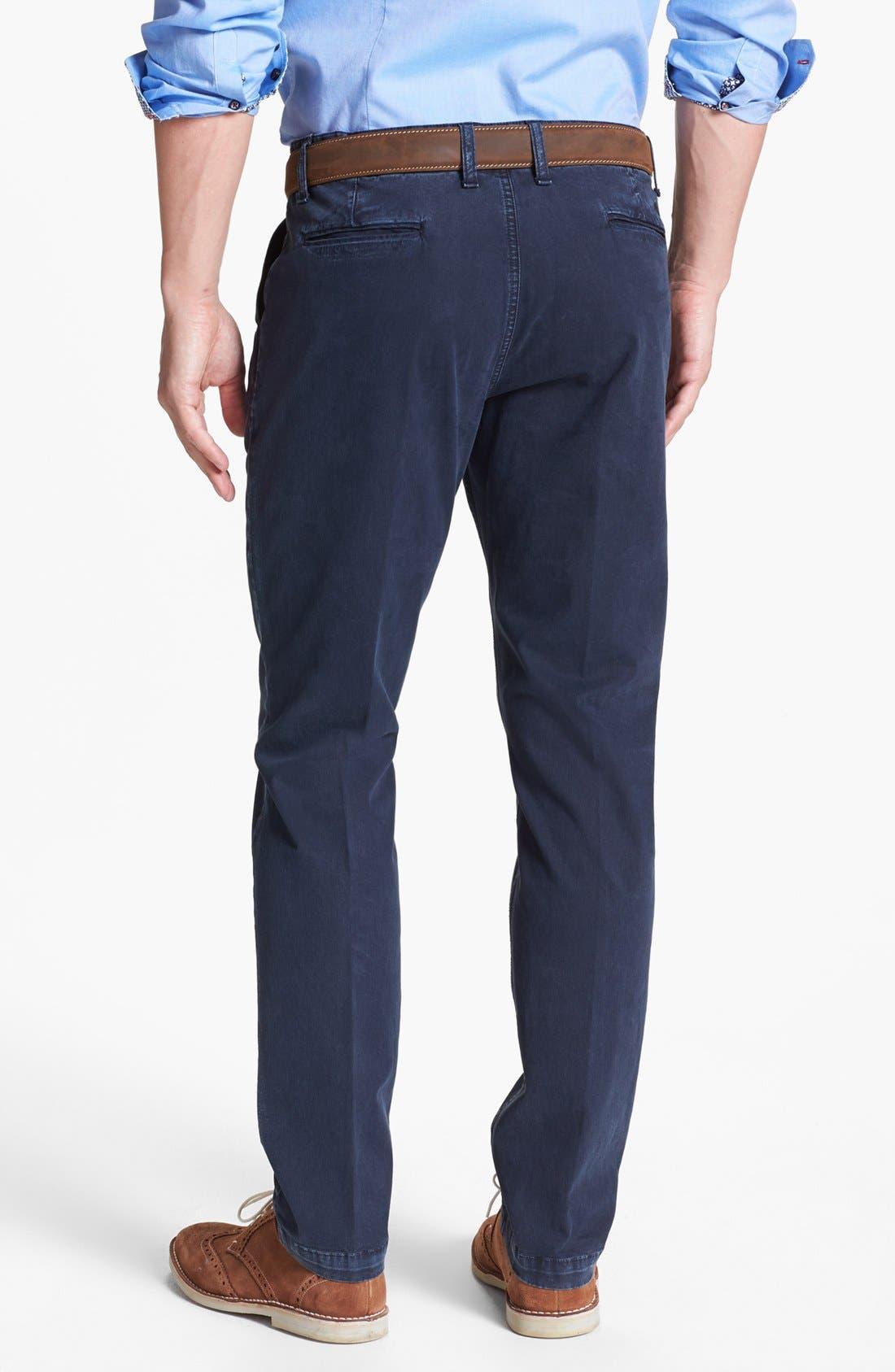 Alternate Image 2  - Moods of Norway 'Pedar' Slim Straight Stretch Pants