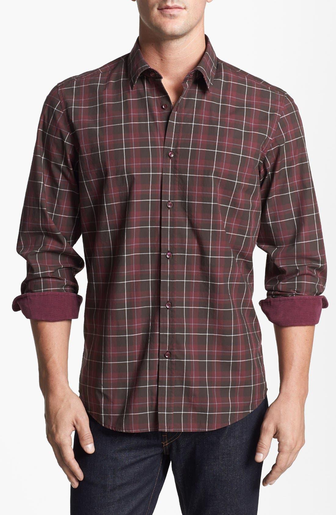 Main Image - BOSS HUGO BOSS 'Lucas' Regular Fit Sport Shirt